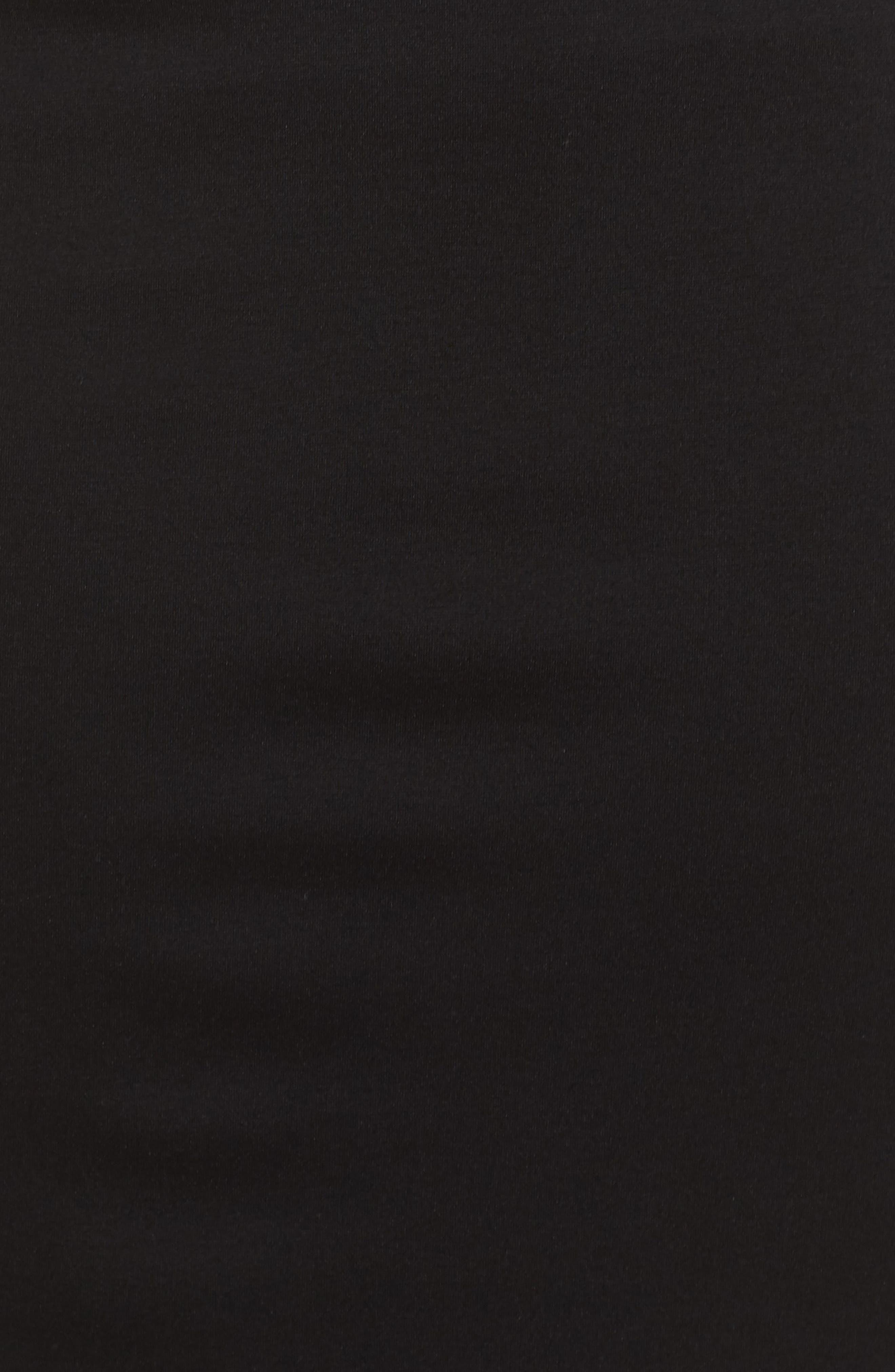 Perfect High Waist Skirt,                             Alternate thumbnail 5, color,                             BLACK