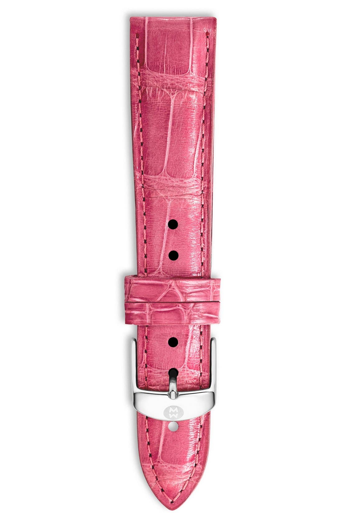 18mm Alligator Watch Strap,                             Main thumbnail 21, color,