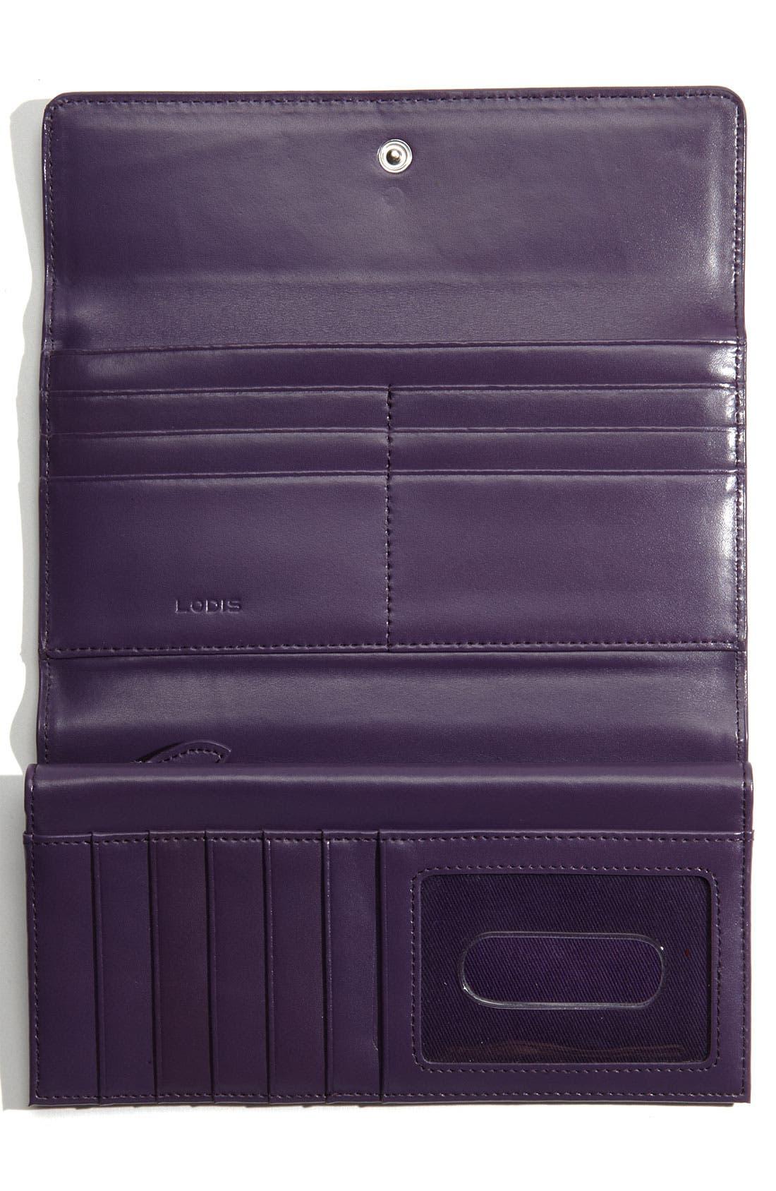 Lodis 'Audrey' Checkbook Clutch Wallet,                             Alternate thumbnail 2, color,                             035