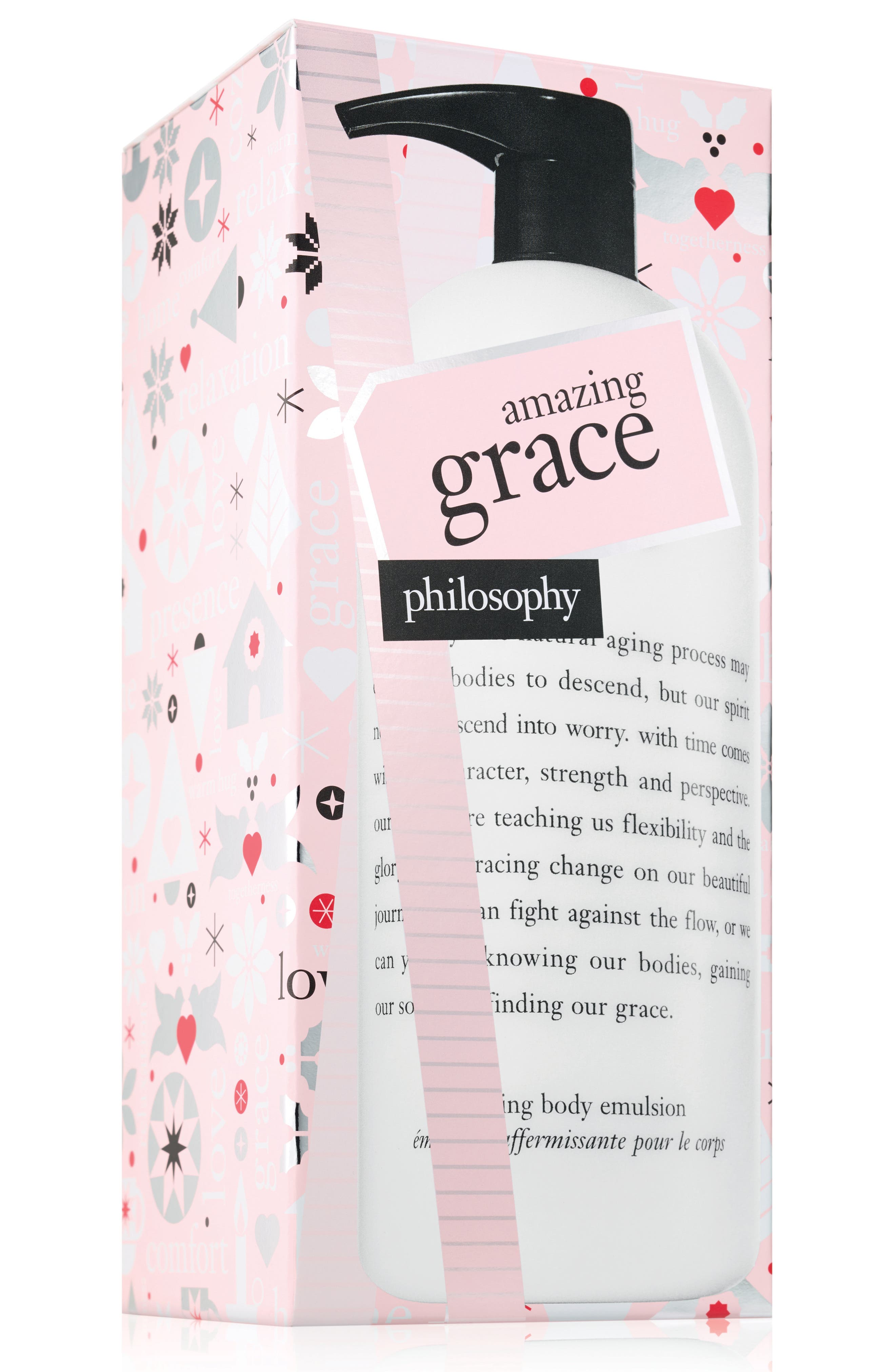 amazing grace firming body emulsion,                         Main,                         color, NO COLOR