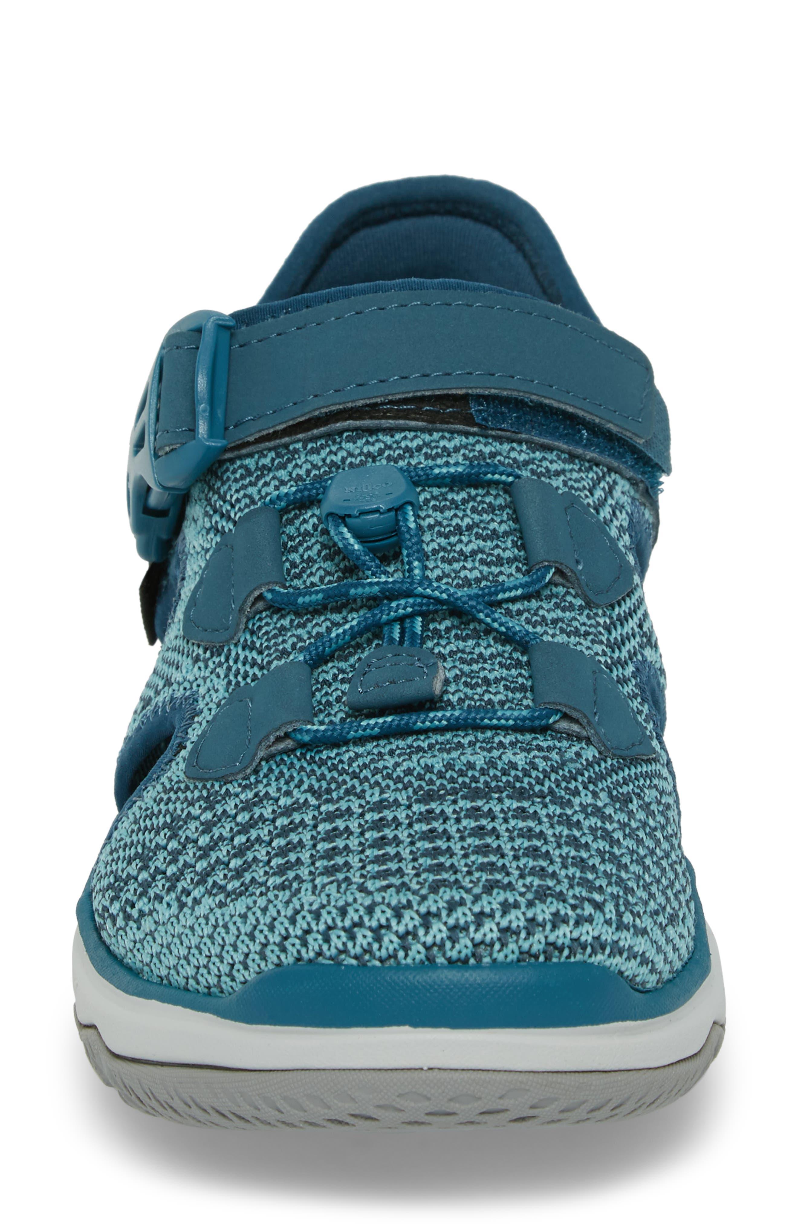 Terra Float Travel Knit Active Sandal,                             Alternate thumbnail 4, color,                             LEGION BLUE