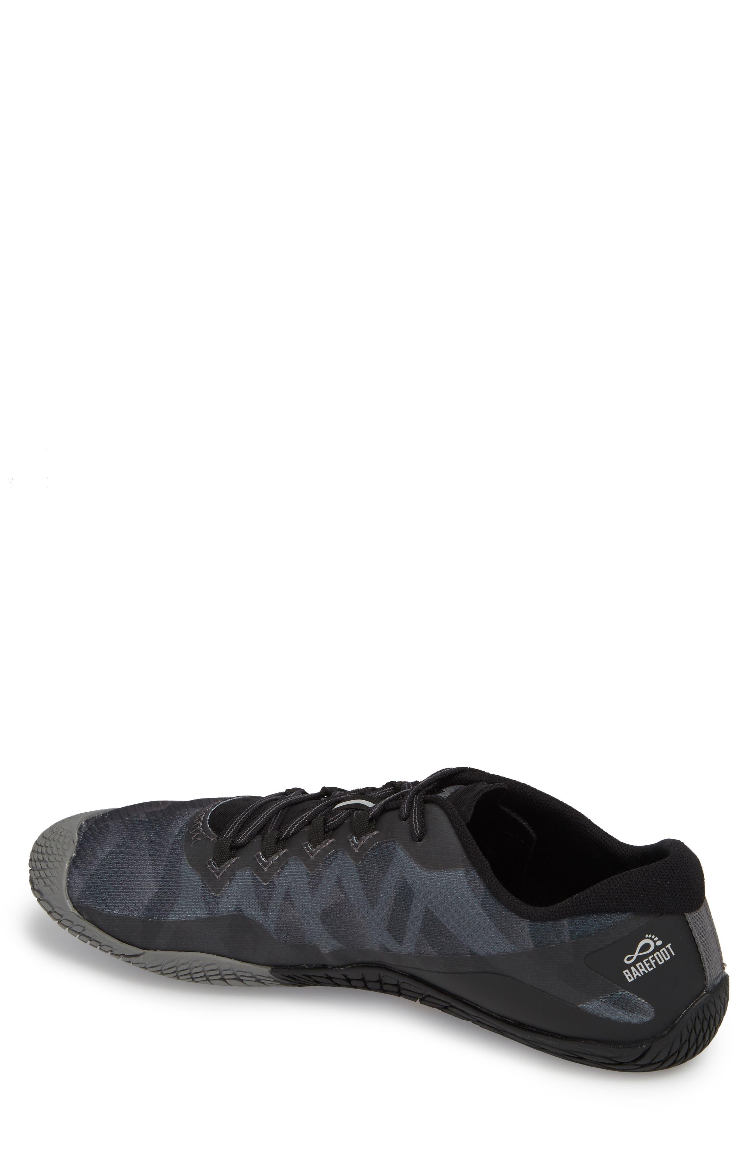 Vapor Glove 3 Trail Running Shoe,                             Alternate thumbnail 2, color,                             BLACK/ SILVER