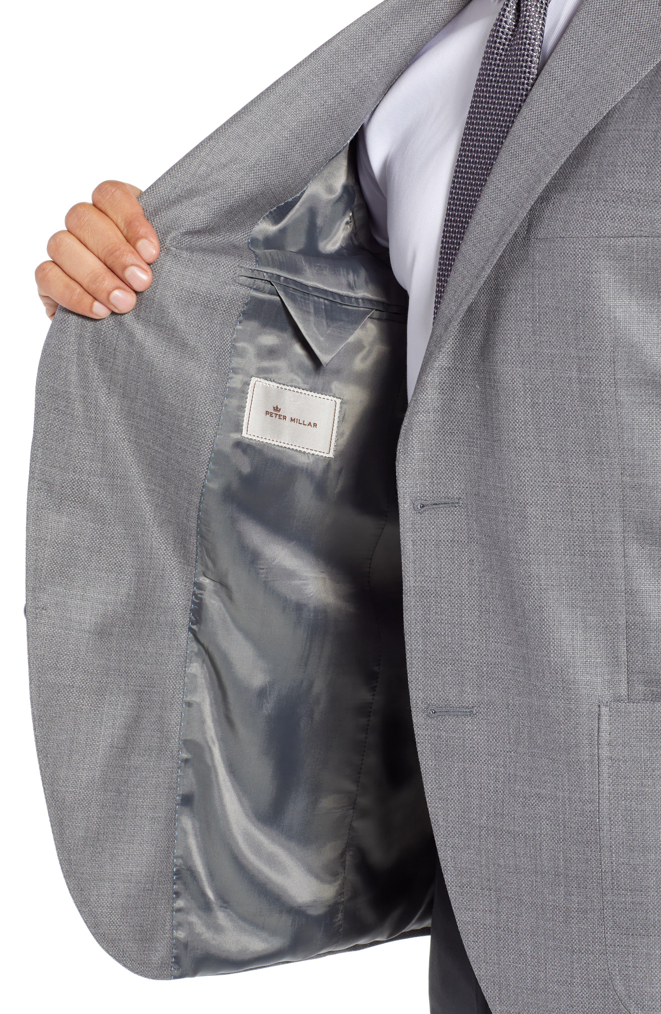 PETER MILLAR,                             Hyperlight Classic Fit Wool Sport Coat,                             Alternate thumbnail 4, color,                             020