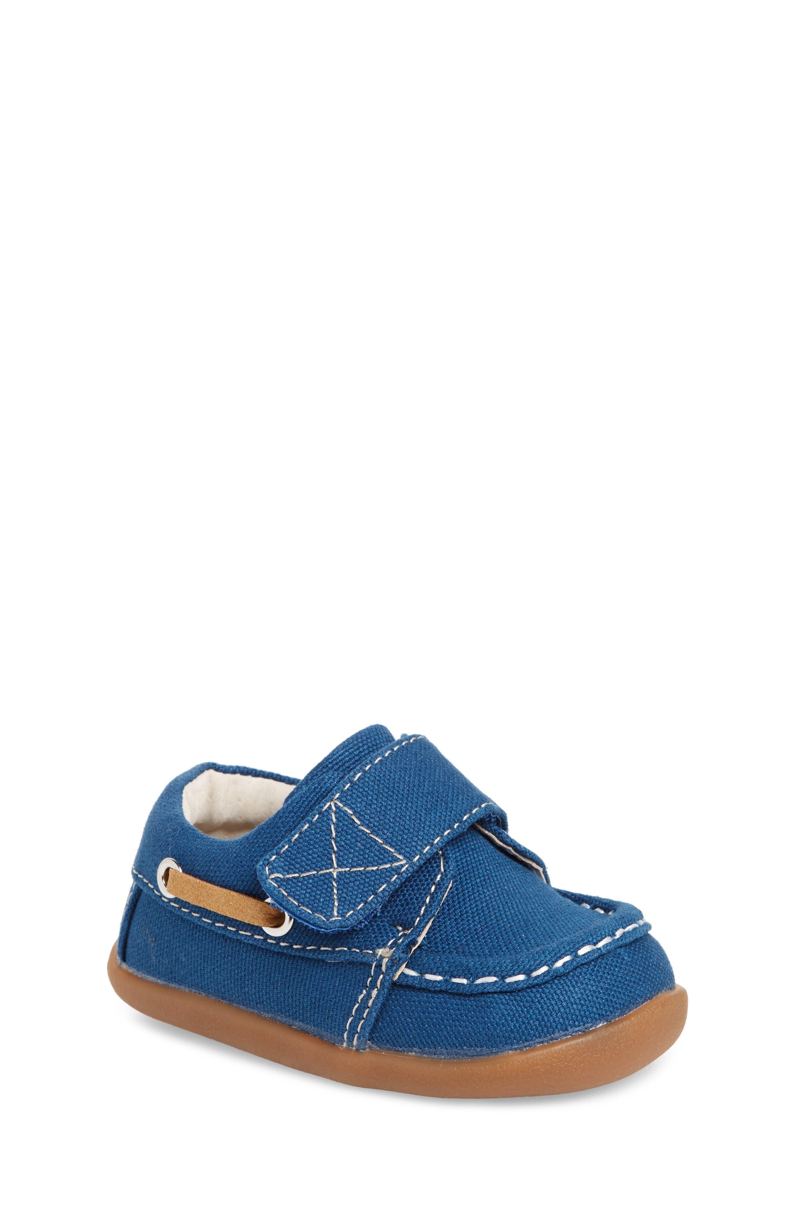 Arthur Sneaker,                             Main thumbnail 1, color,                             BLUE CANVAS
