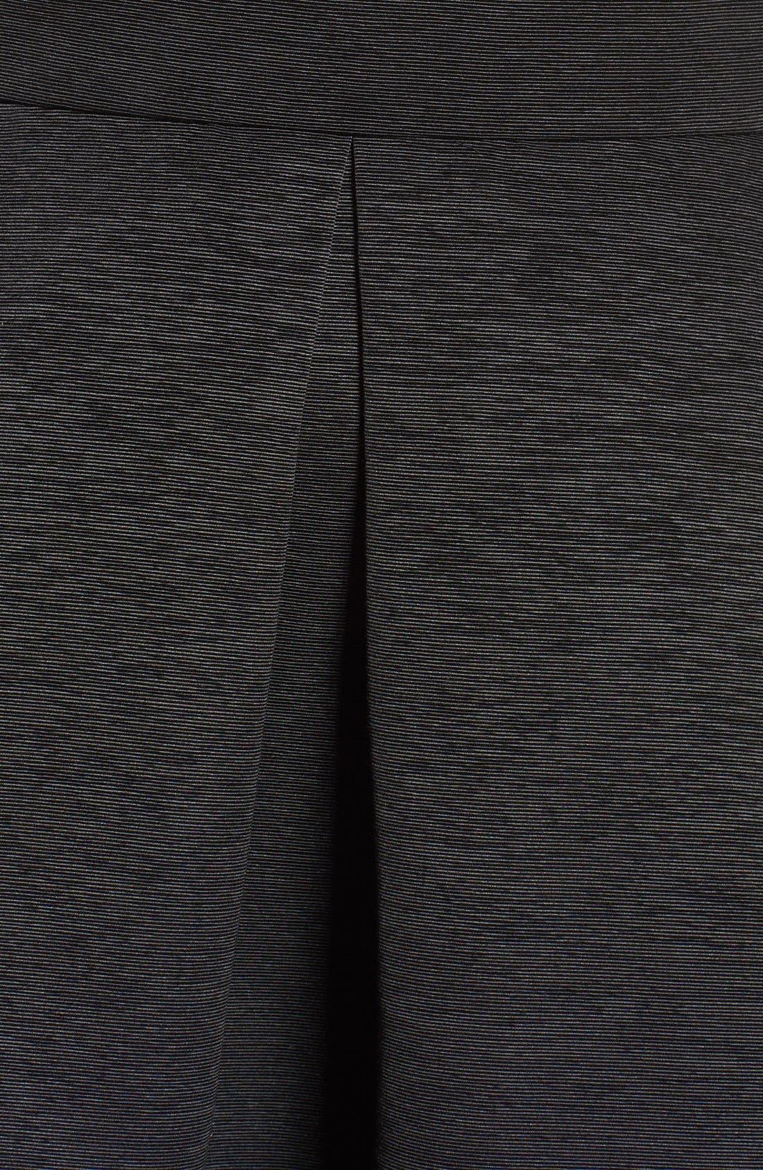 Off the Shoulder A-Line Dress,                             Alternate thumbnail 9, color,                             BLACK