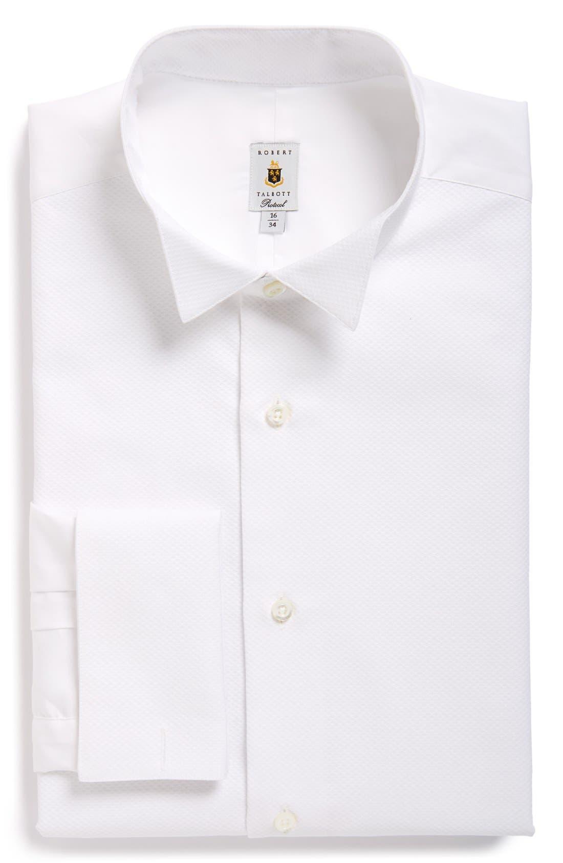 Bib Front Tuxedo Shirt,                         Main,                         color, 110