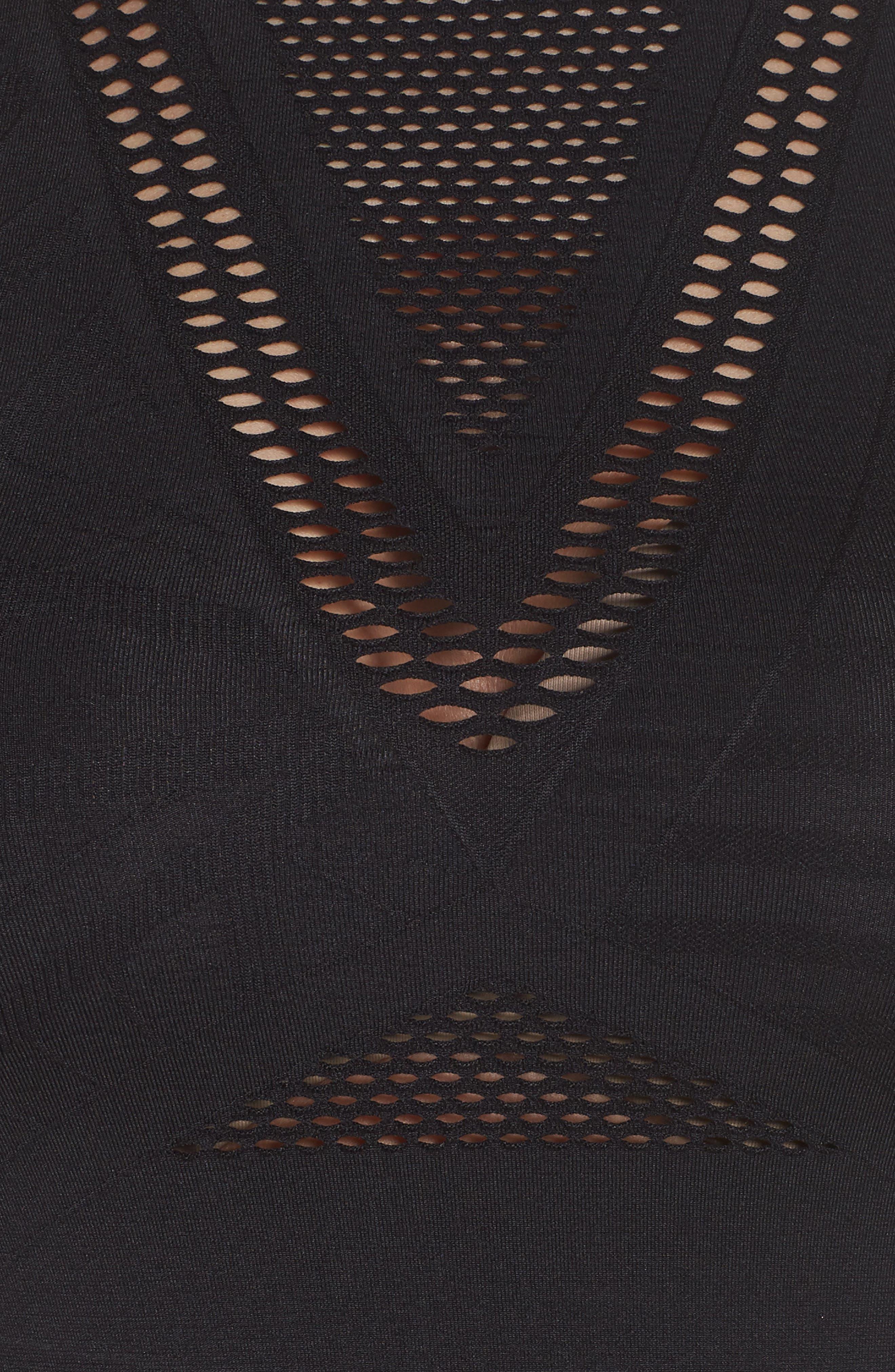Oxygen Midi Tank,                             Alternate thumbnail 6, color,                             BLACK