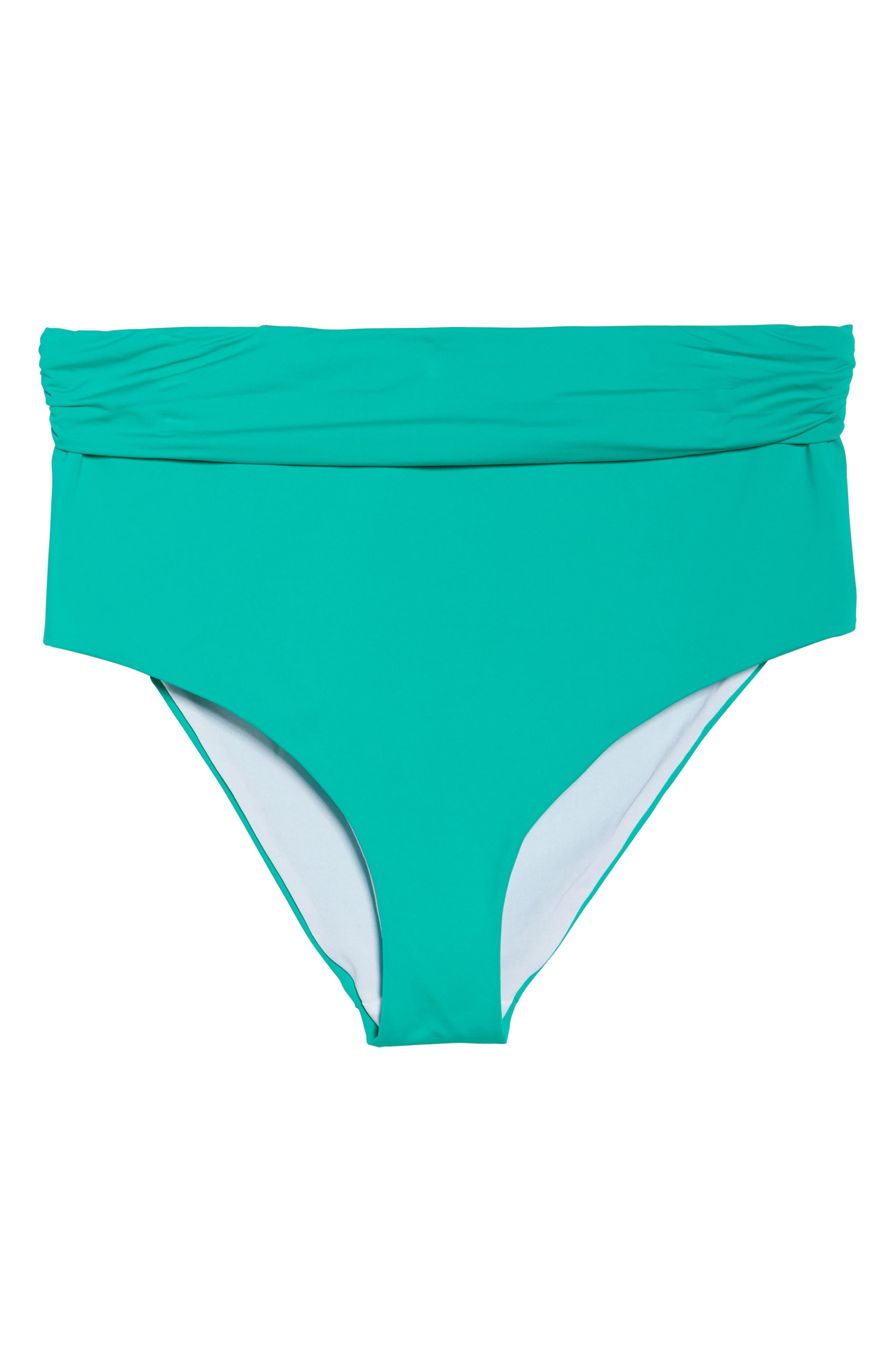 Color Splash High Waist Bikini Bottoms,                             Alternate thumbnail 6, color,                             305