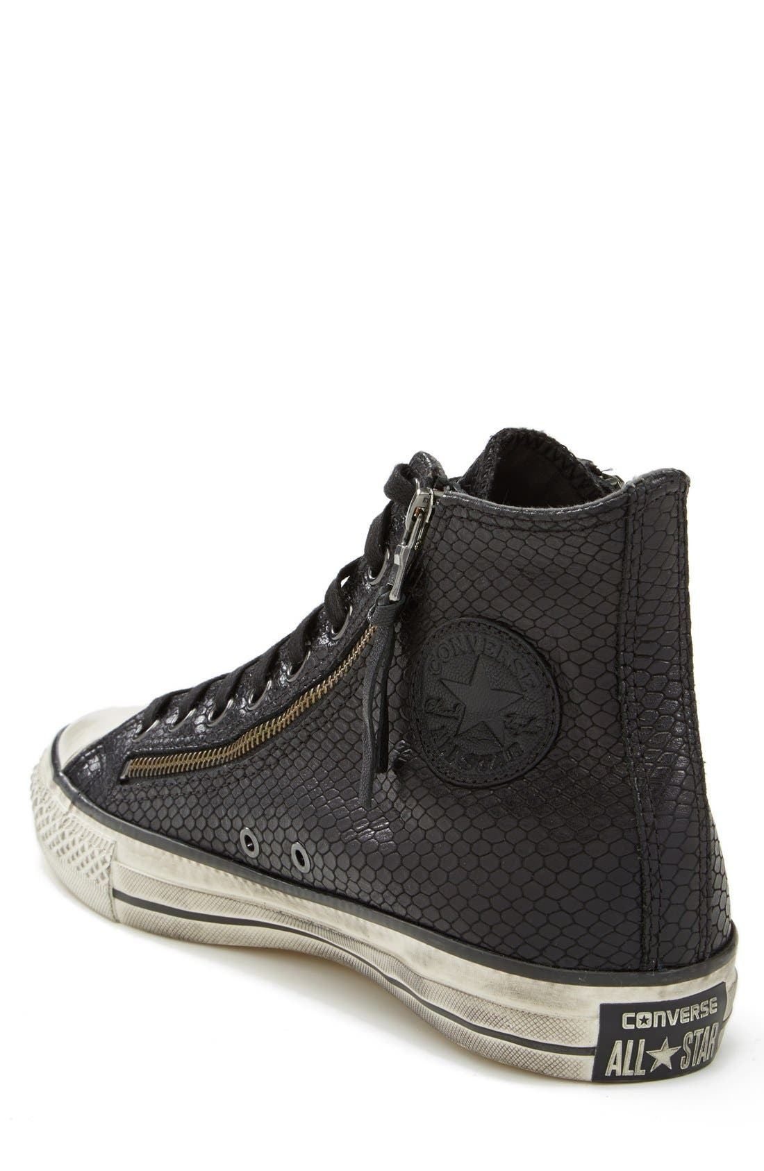 Chuck Taylor<sup>®</sup> All Star<sup>®</sup> Zip Sneaker,                             Alternate thumbnail 4, color,                             001
