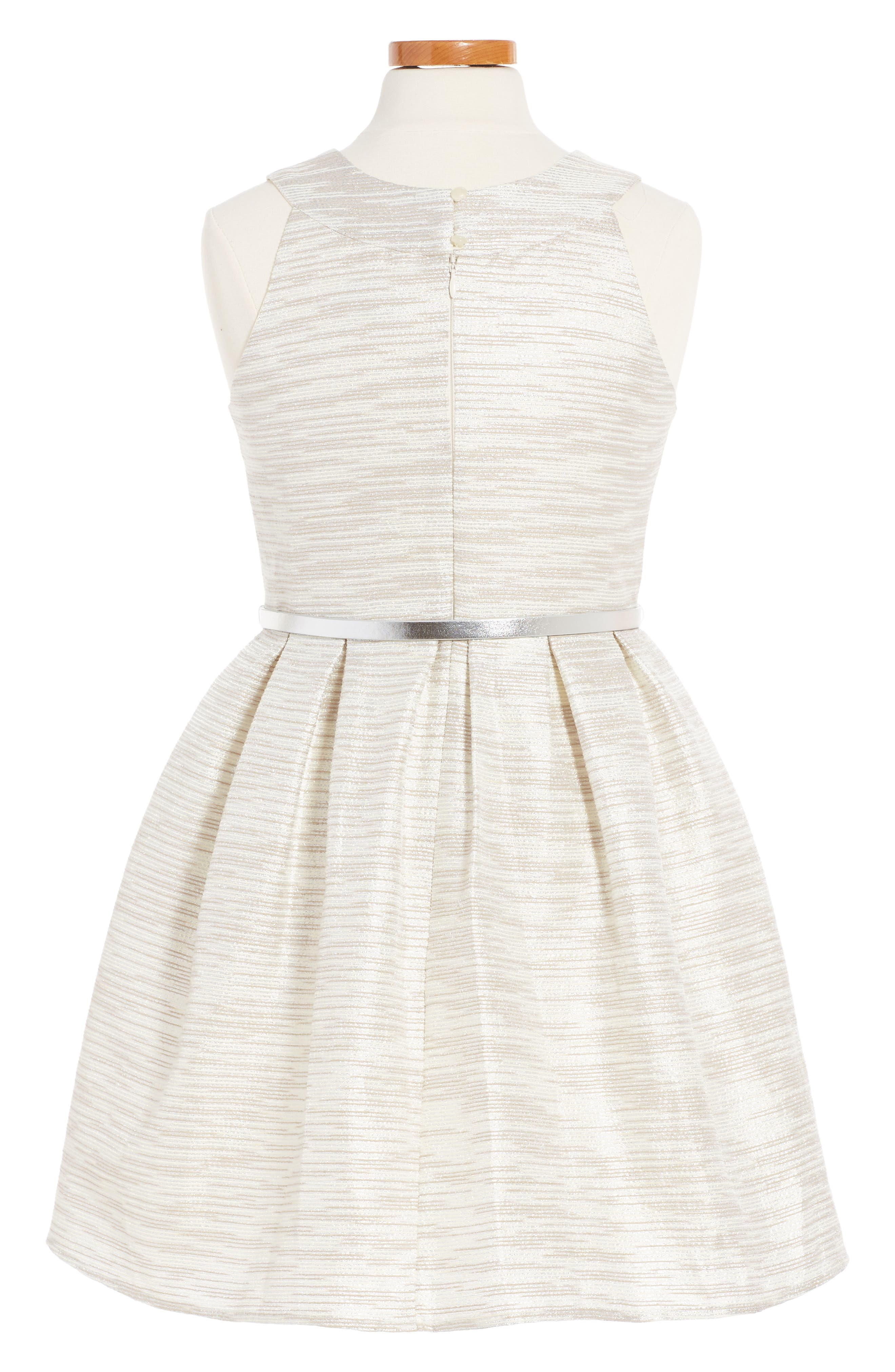 Metallic Party Dress,                             Main thumbnail 2, color,