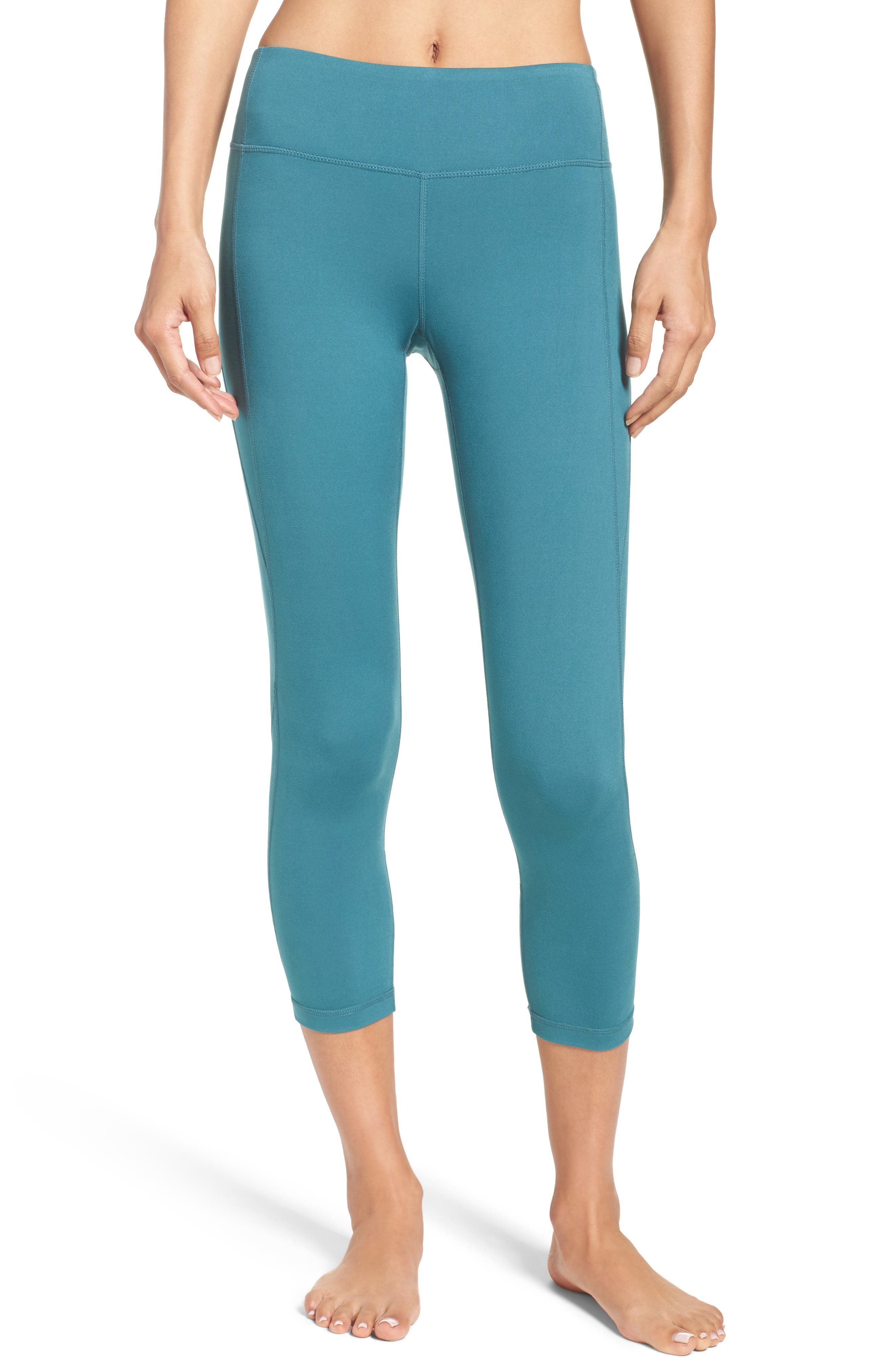 Live-In Keep It Cool Crop Leggings,                             Main thumbnail 8, color,