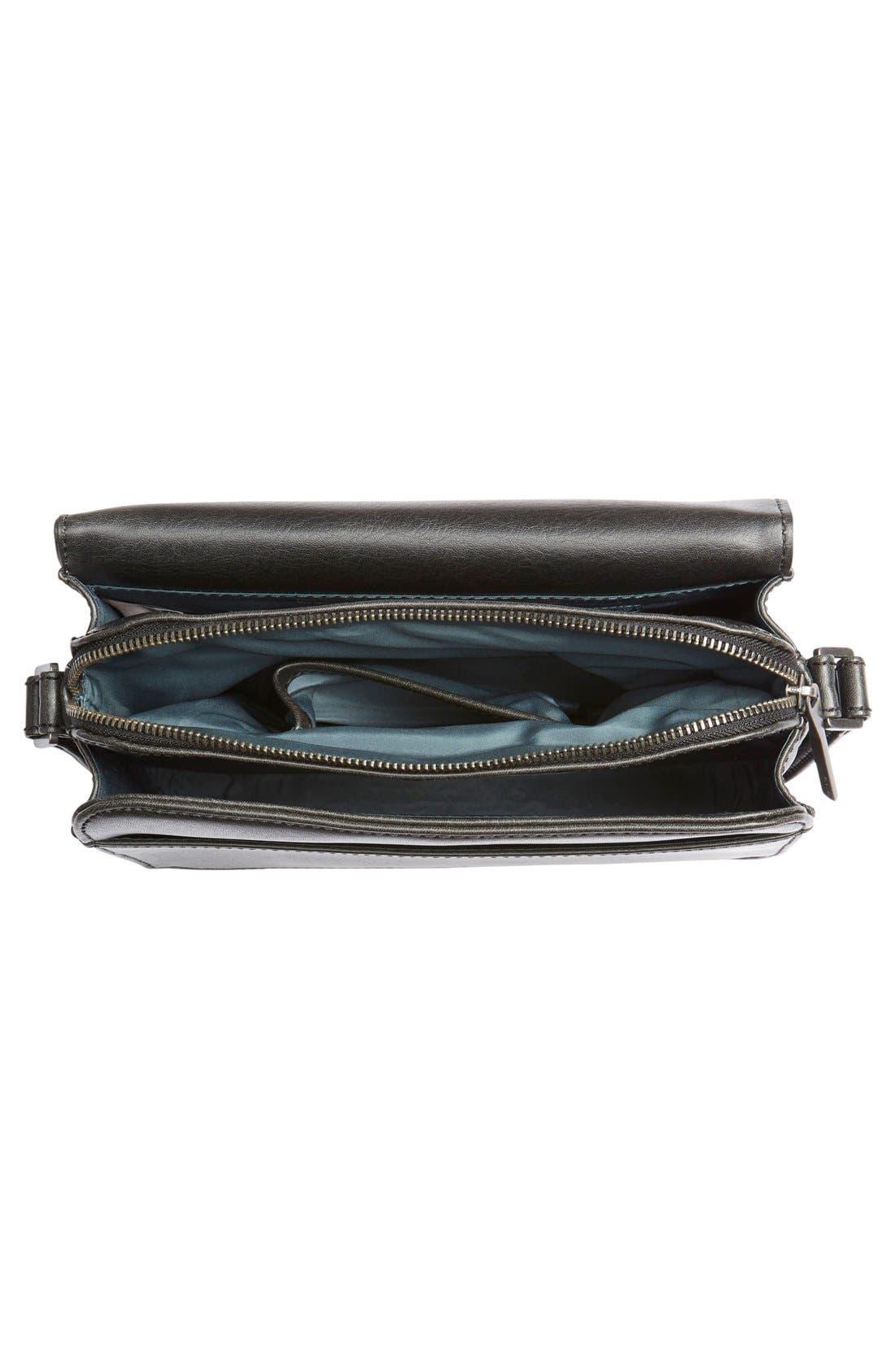 MATT & NAT,                             'Elle' Vegan Leather Crossbody Bag,                             Main thumbnail 1, color,                             001