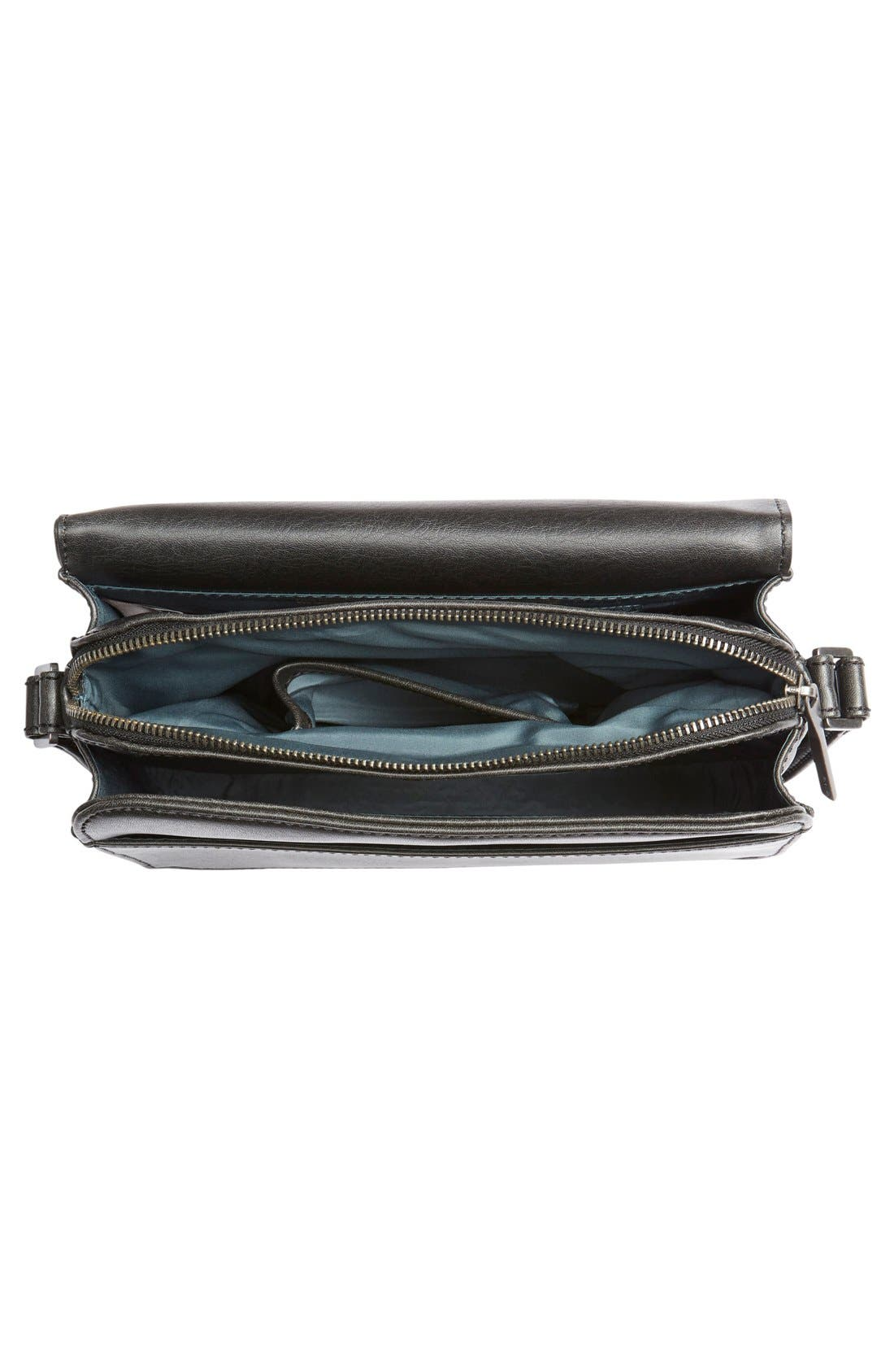 MATT & NAT 'Elle' Vegan Leather Crossbody Bag, Main, color, 001