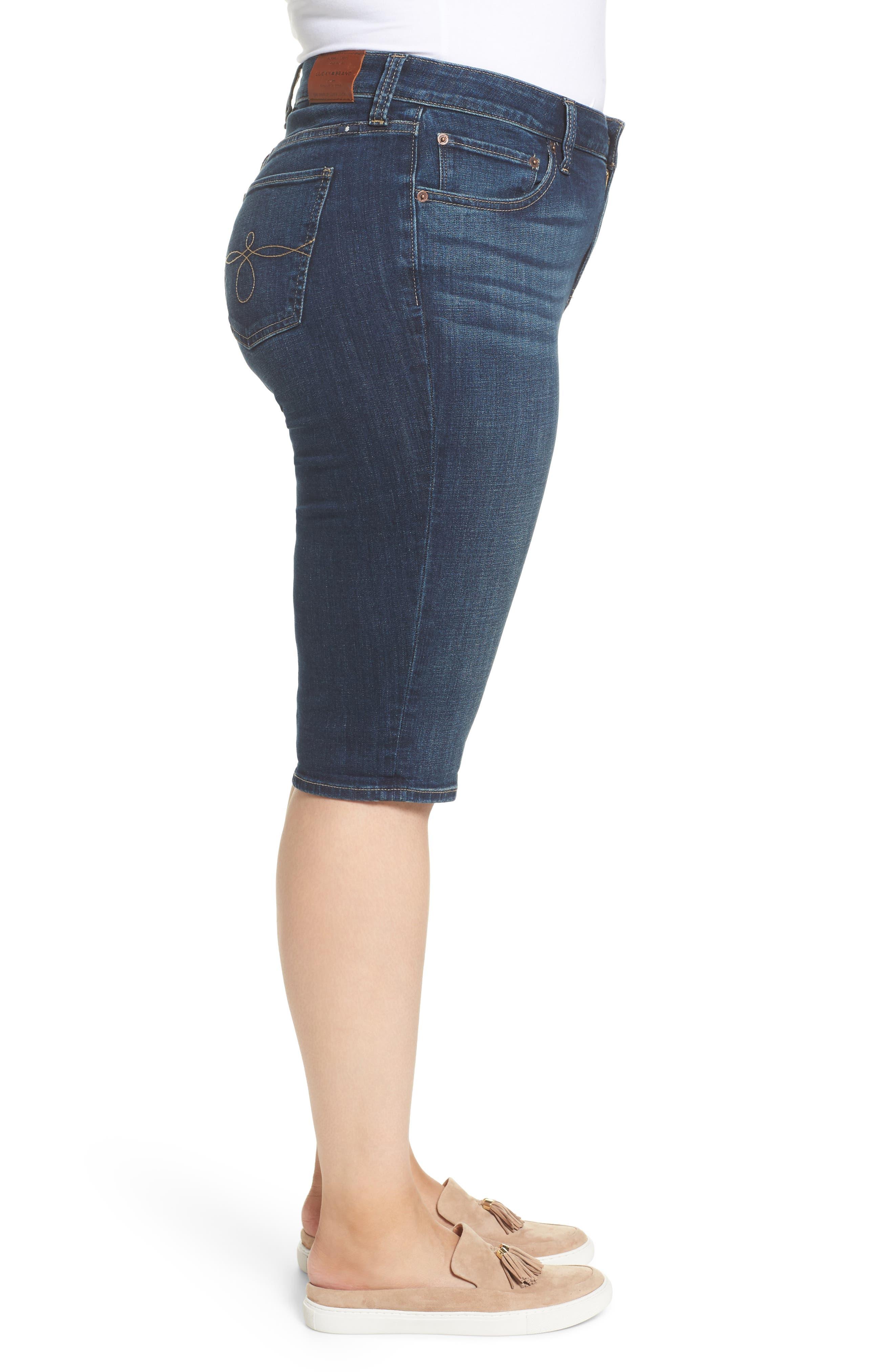 Ginger Bermuda Shorts,                             Alternate thumbnail 3, color,                             430