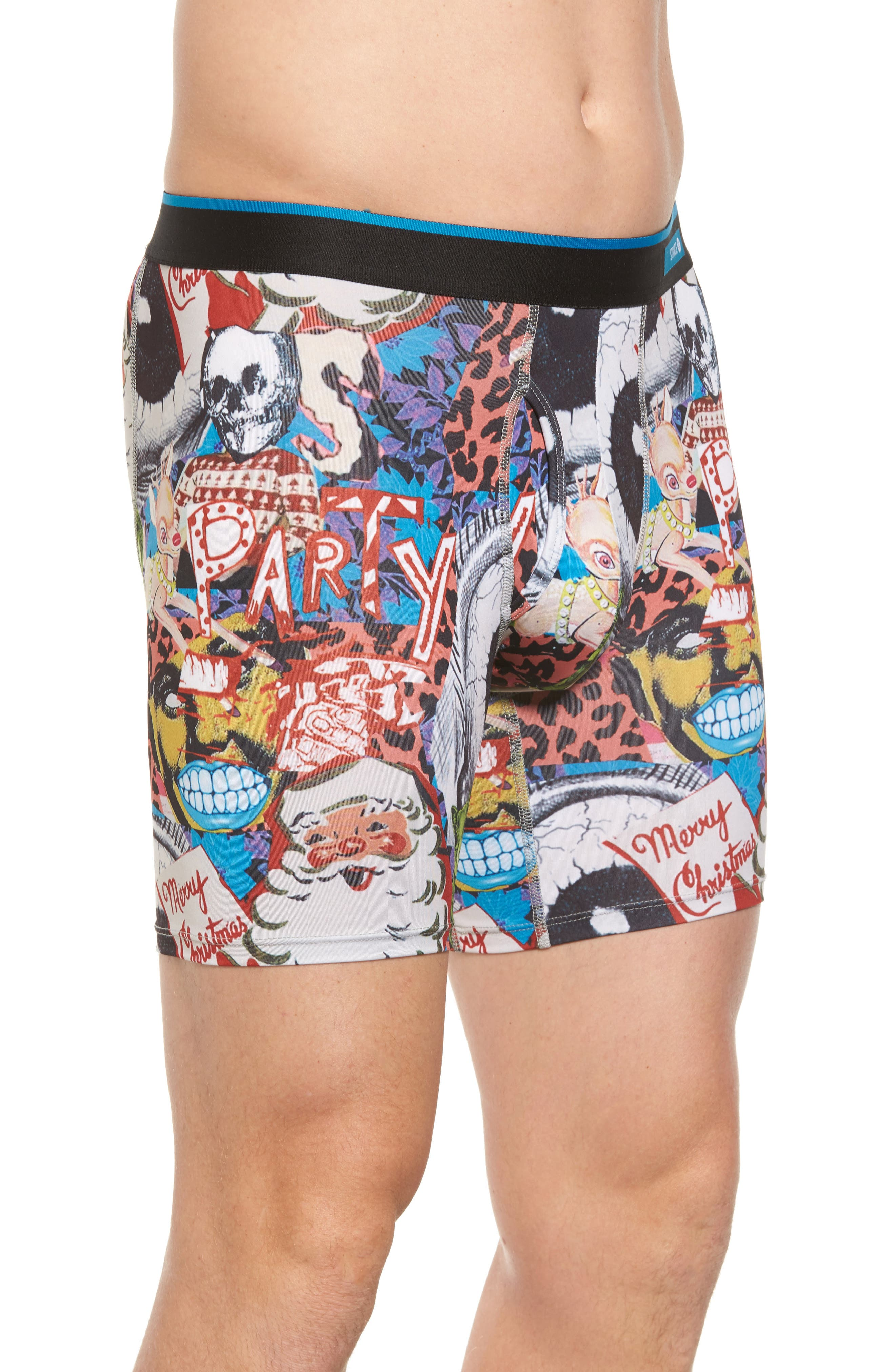 Cycle Zombies Xmas Boxer Briefs,                             Alternate thumbnail 2, color,                             401