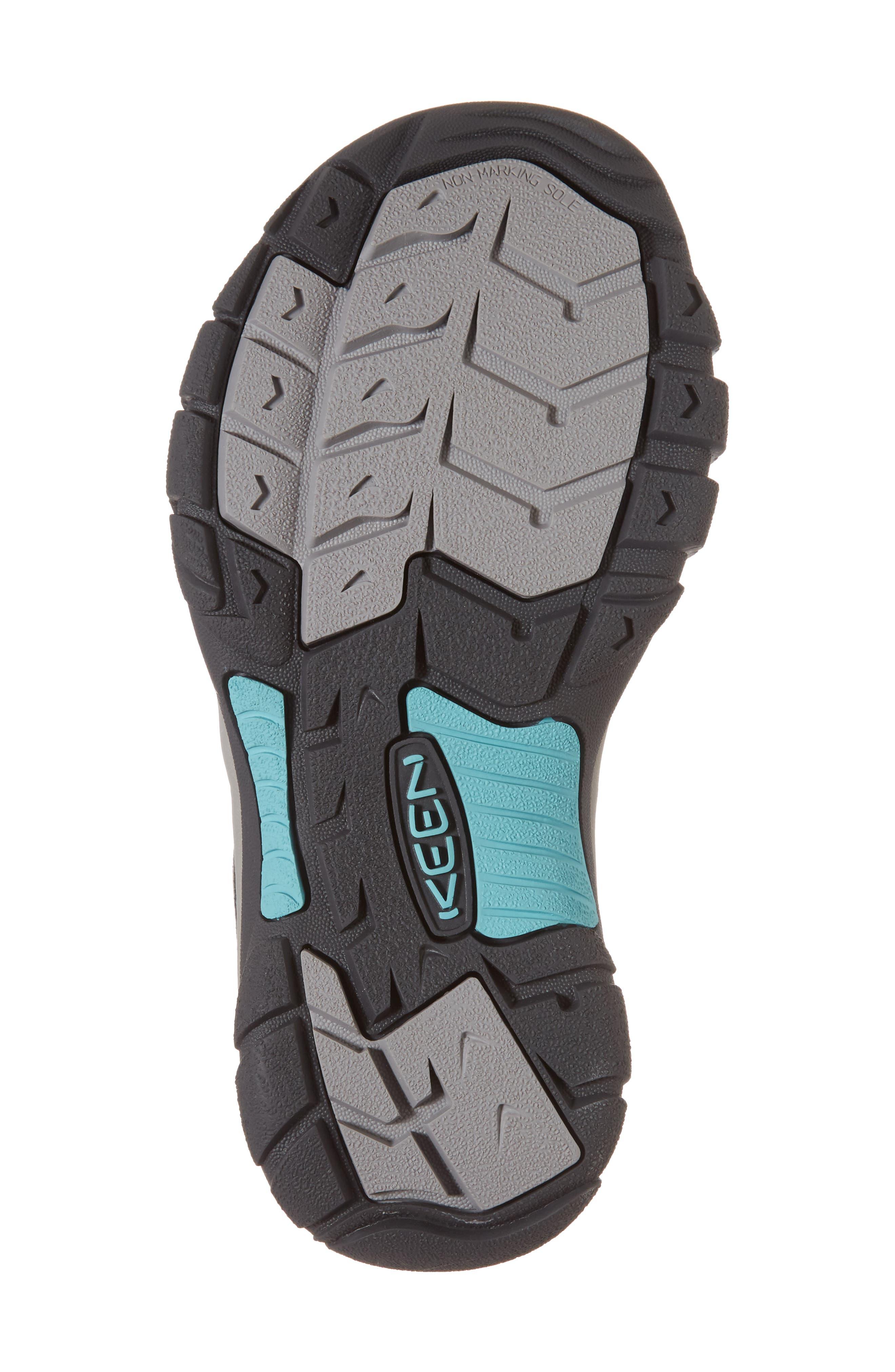 Newport Hydro Sandal,                             Alternate thumbnail 6, color,                             STEEL GREY/ BLUE TURQUOISE