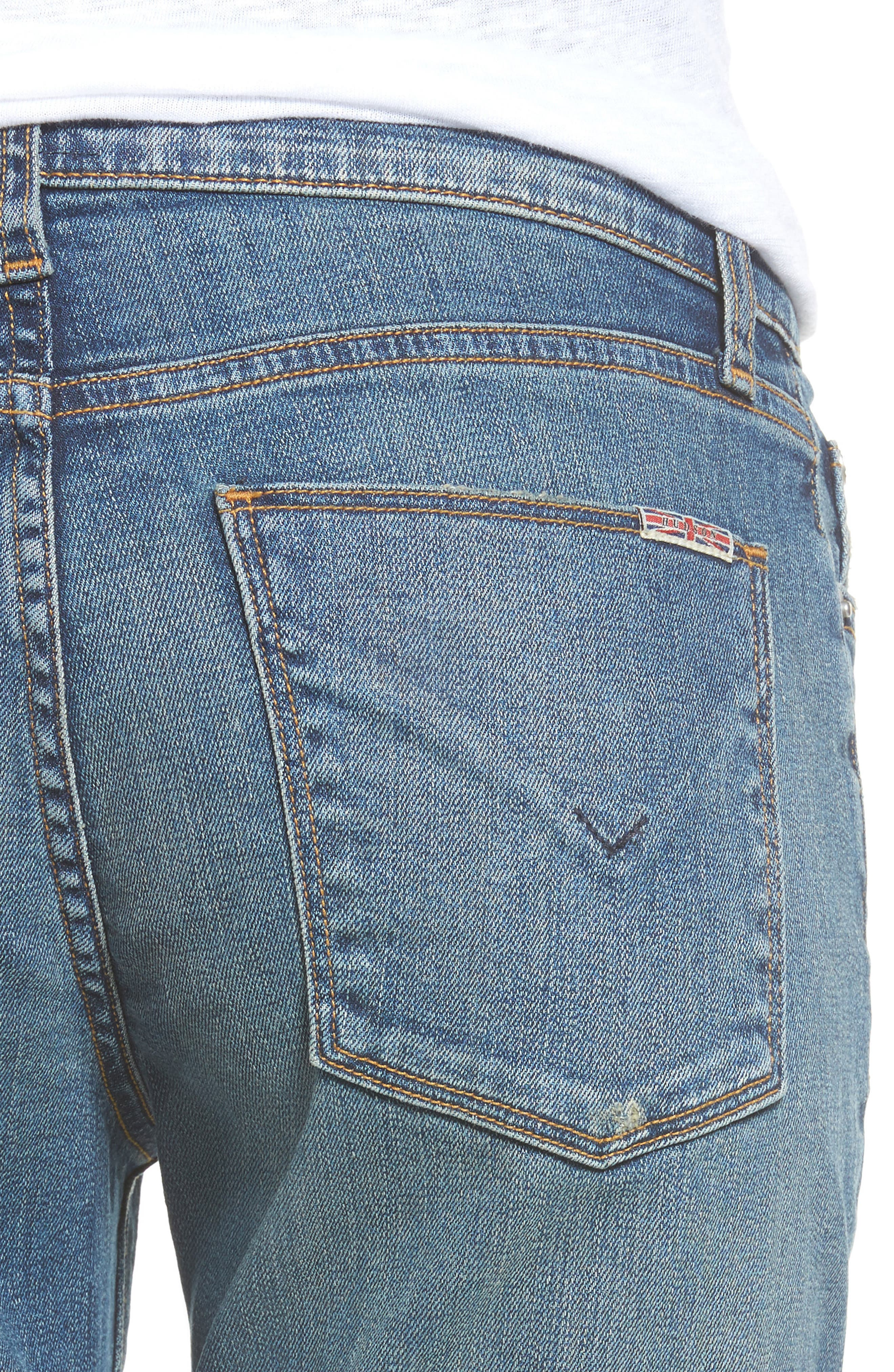 Crop Riley Relaxed Straight Leg Jeans,                             Alternate thumbnail 8, color,
