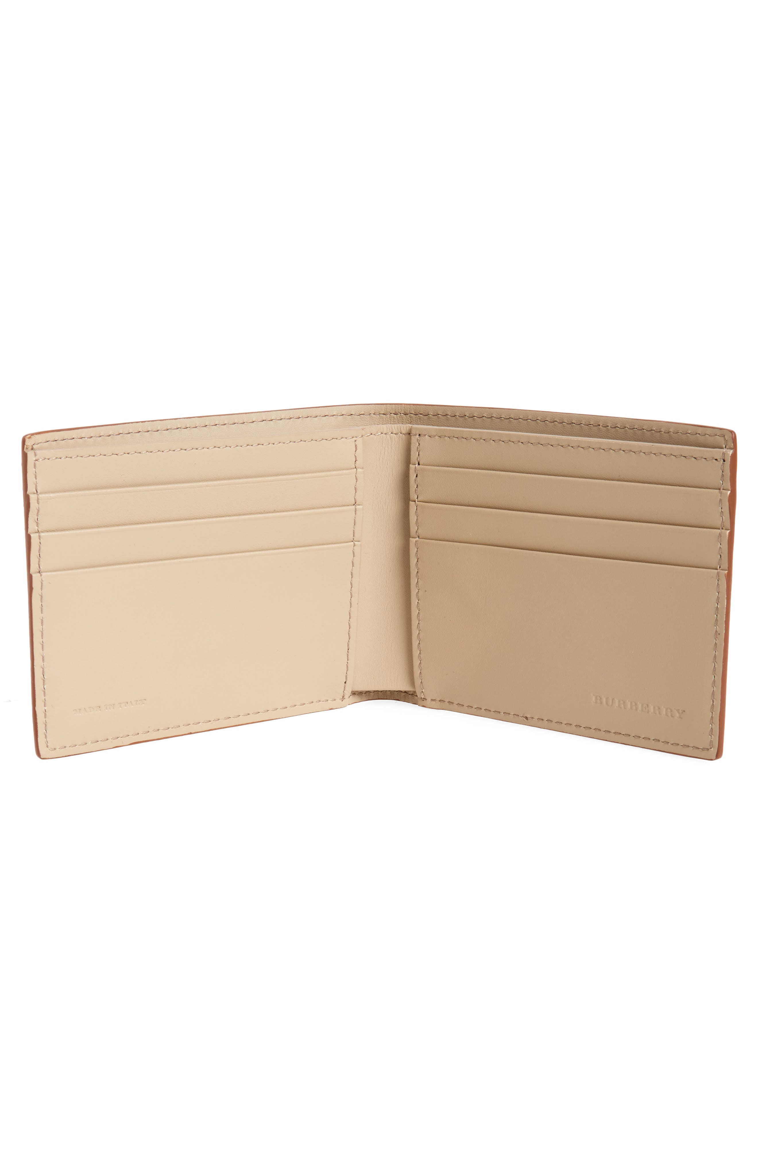 Leather Bifold Wallet,                             Alternate thumbnail 2, color,                             250