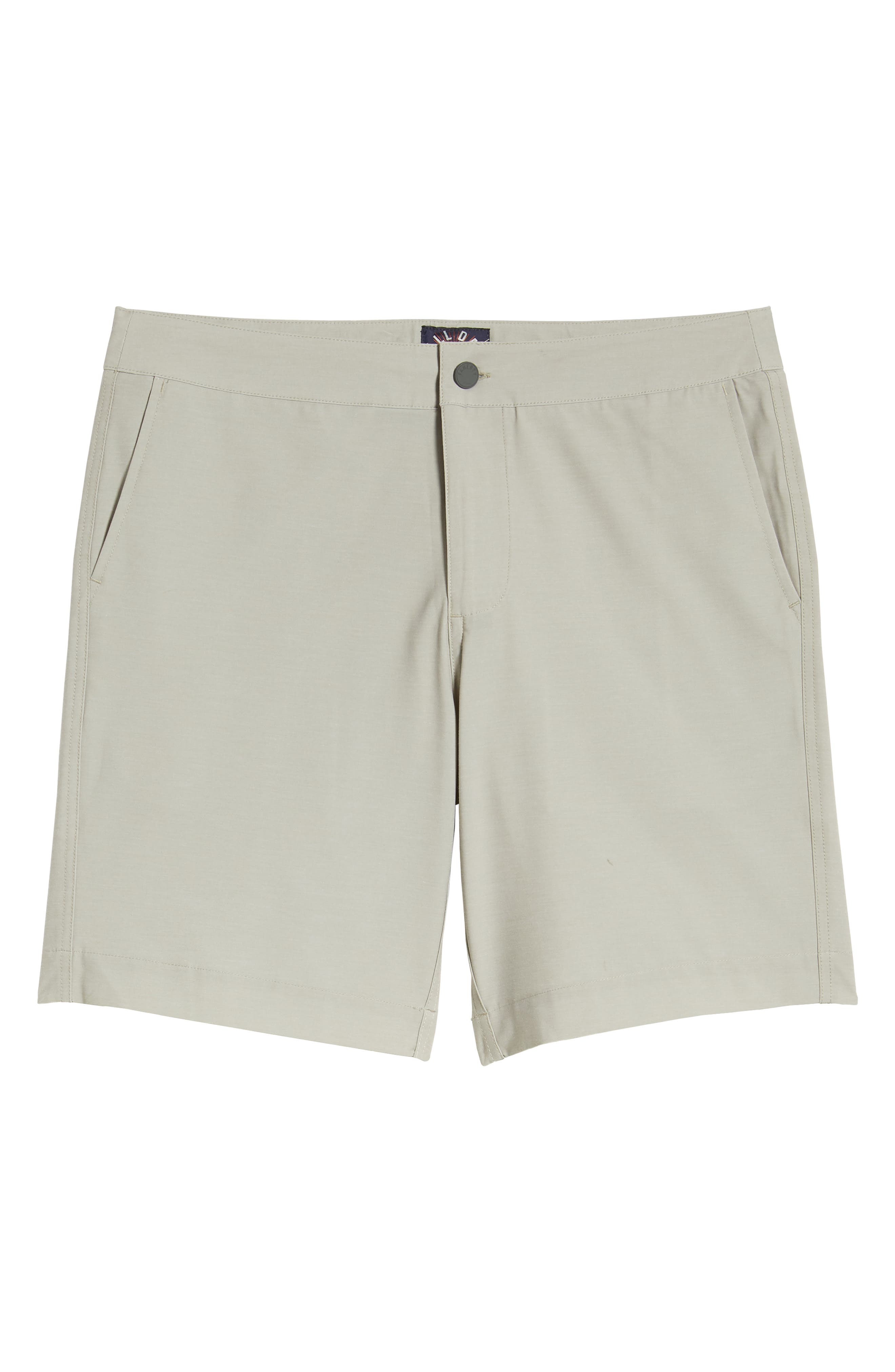 FAHERTY,                             All Day Flat Front Shorts,                             Alternate thumbnail 6, color,                             KHAKI