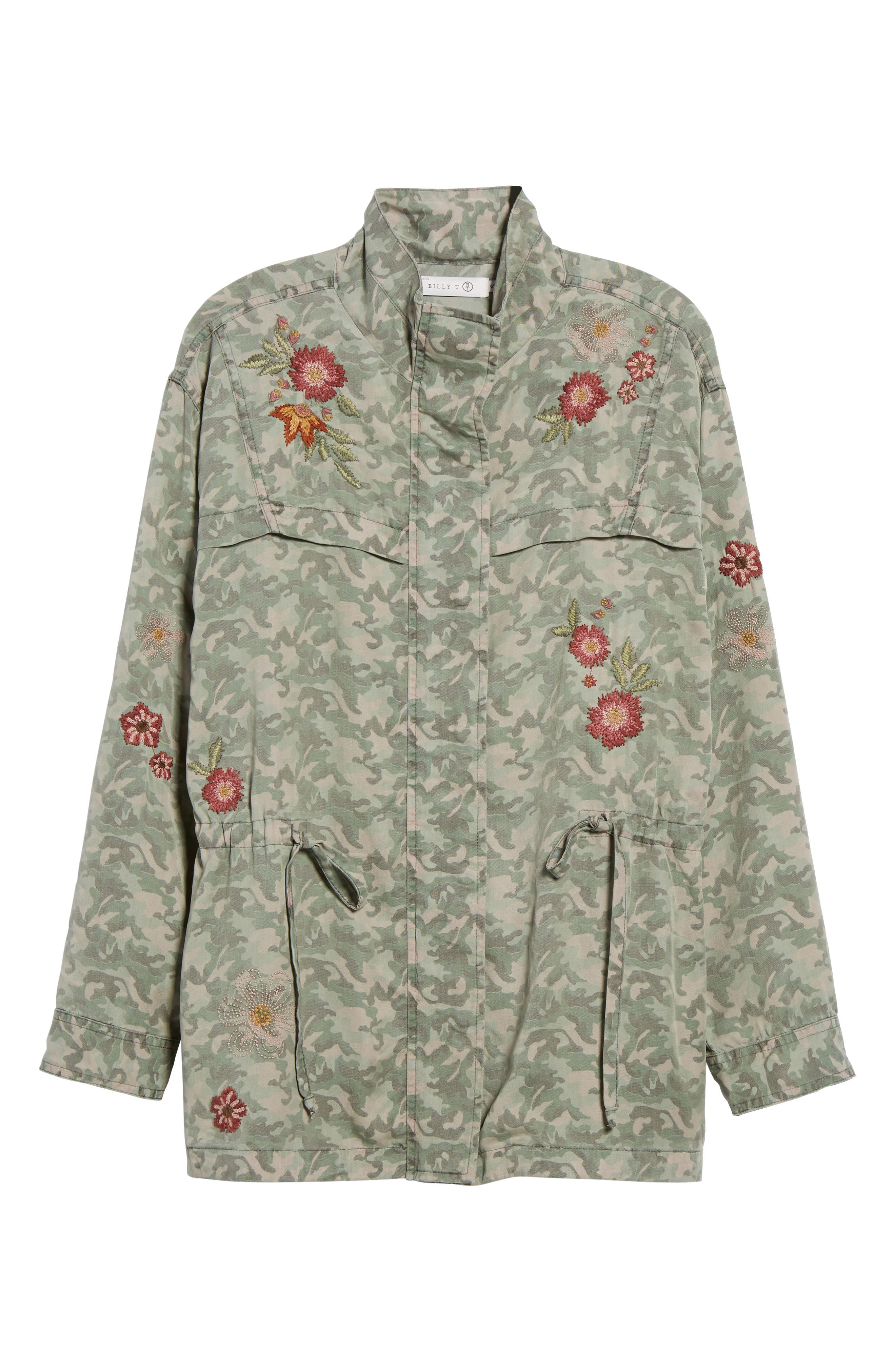 Embroidered Camo Jacket,                             Alternate thumbnail 5, color,                             303