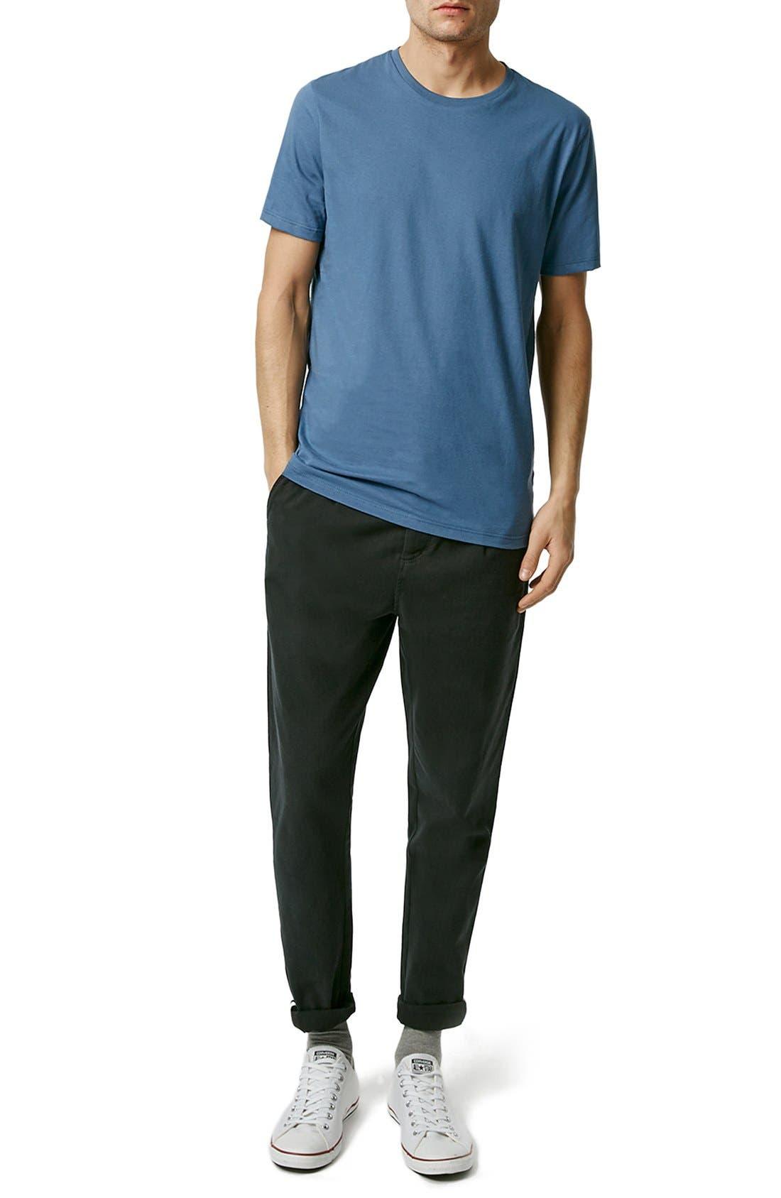 Slim Fit Crewneck T-Shirt,                             Alternate thumbnail 252, color,