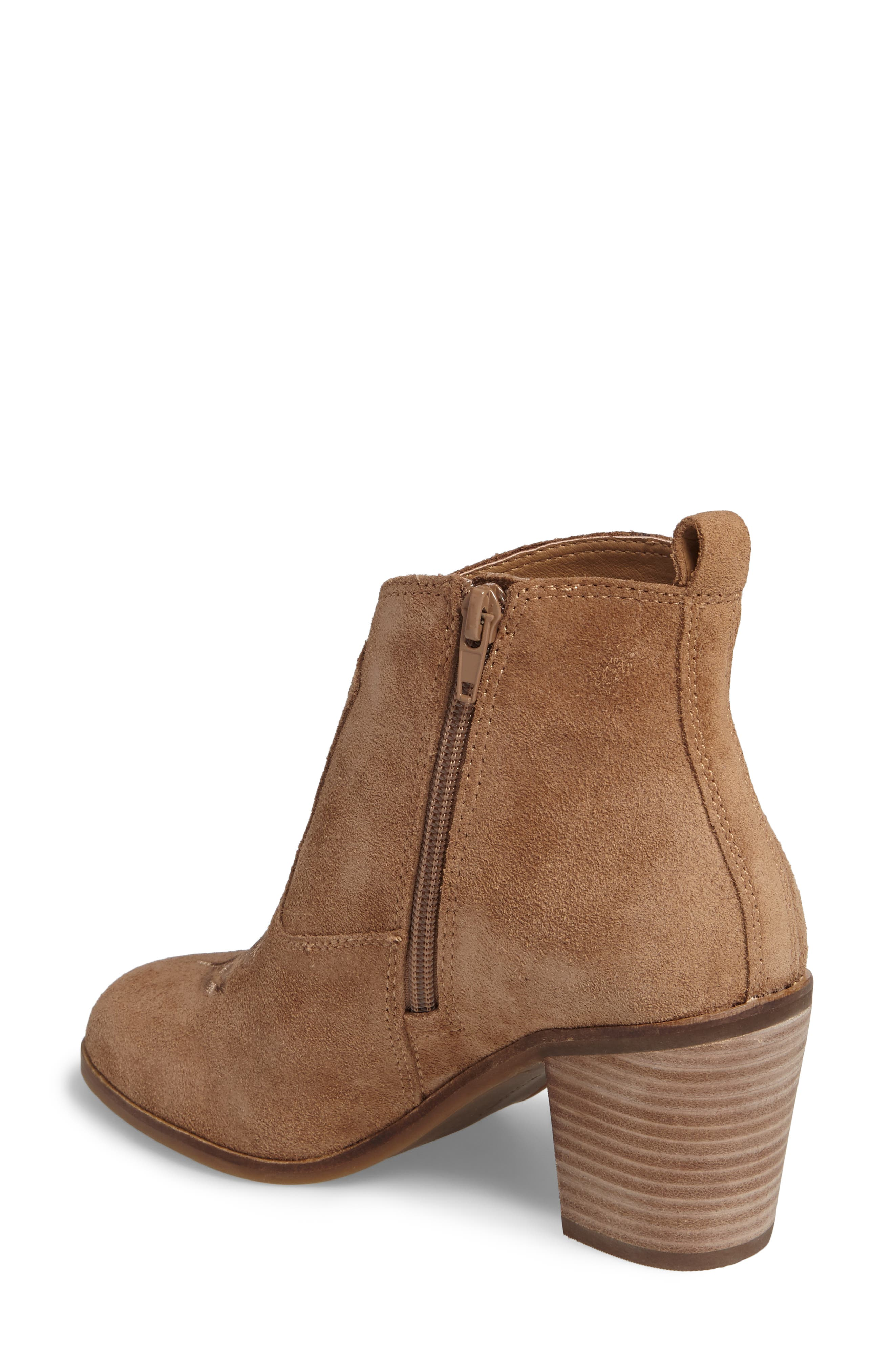Pexton Embroidered Bootie,                             Alternate thumbnail 7, color,