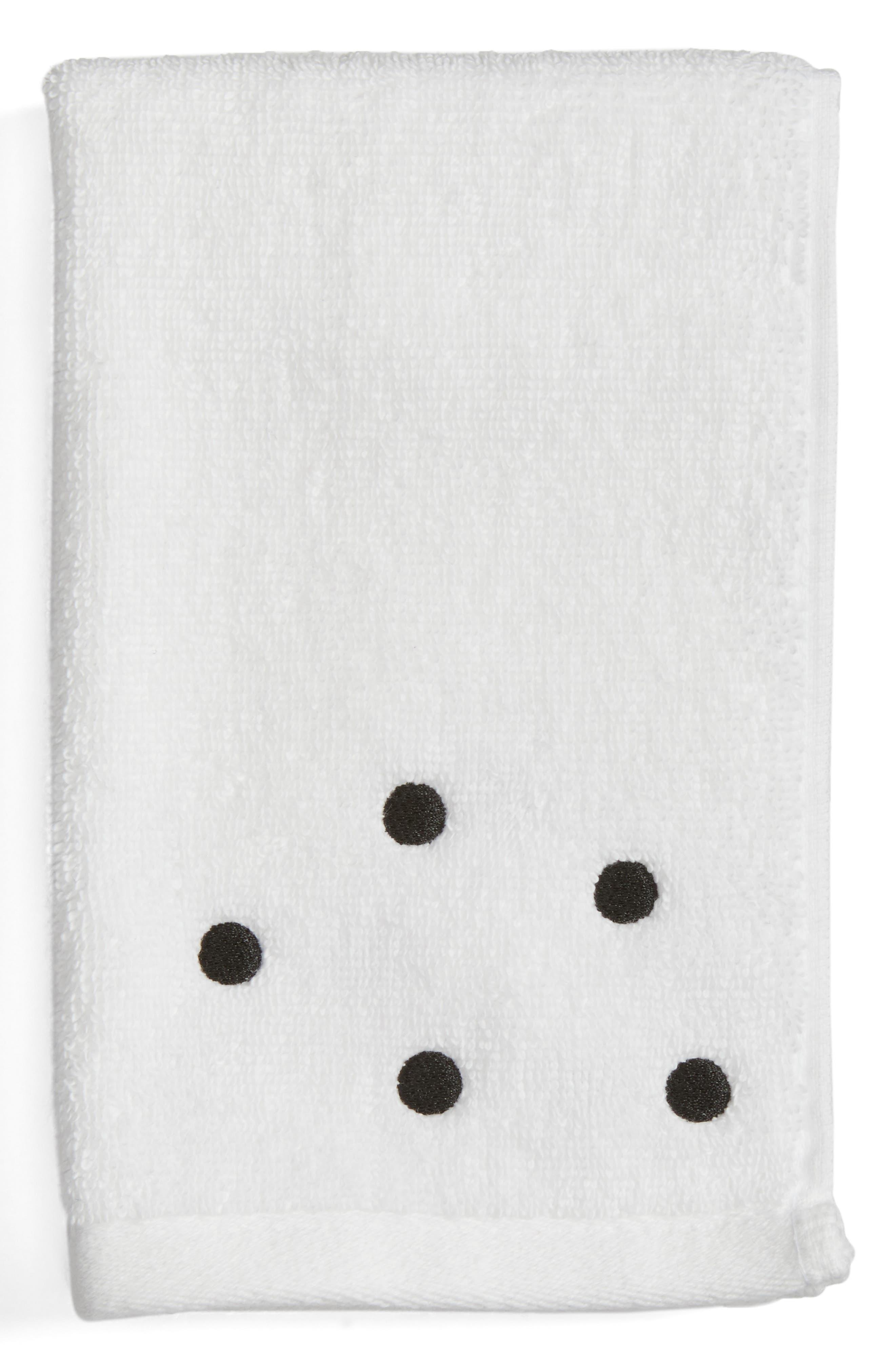 deco dot finger towel,                         Main,                         color,