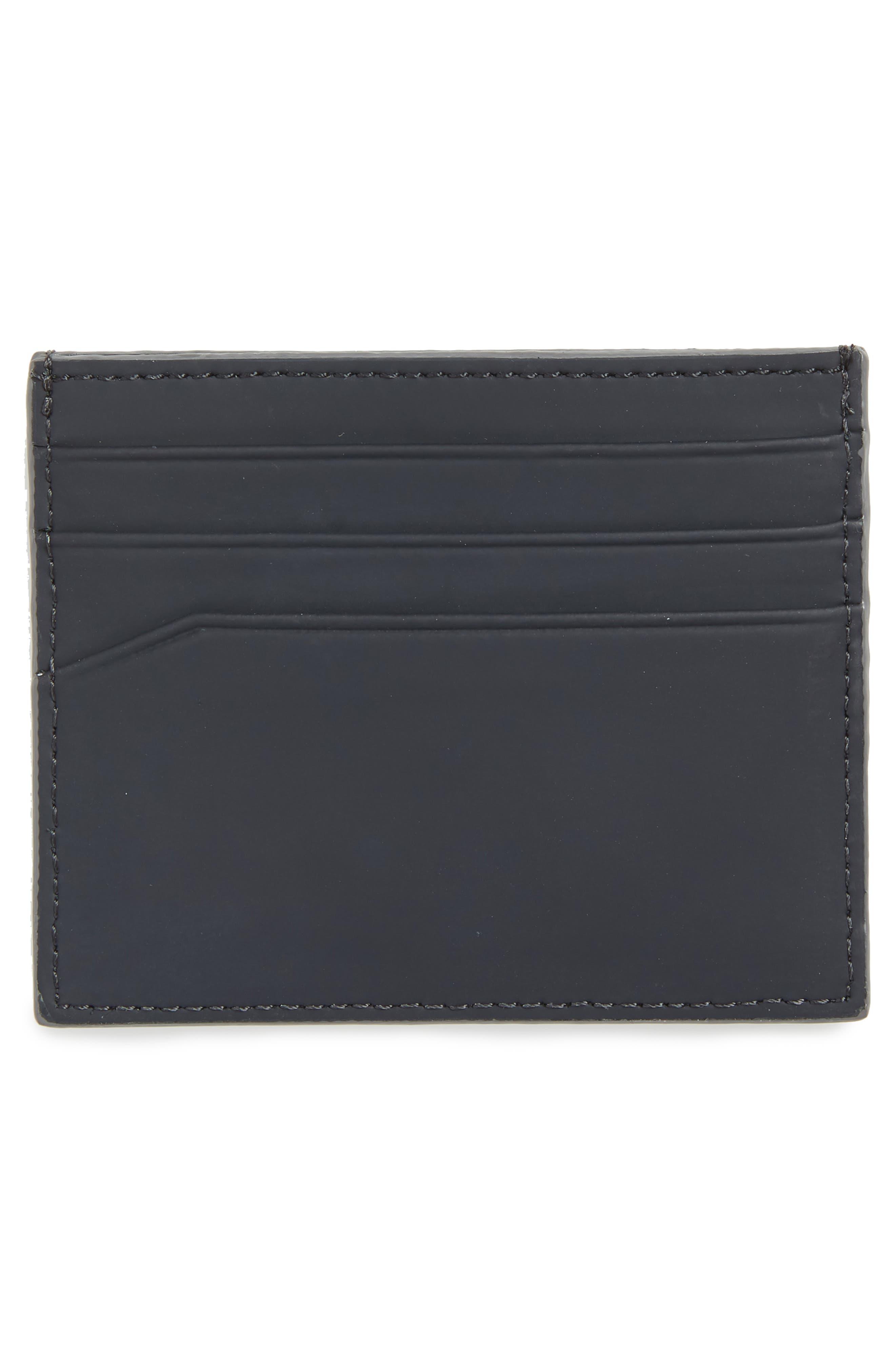 Sands Rubber Leather Card Case,                             Alternate thumbnail 2, color,                             410