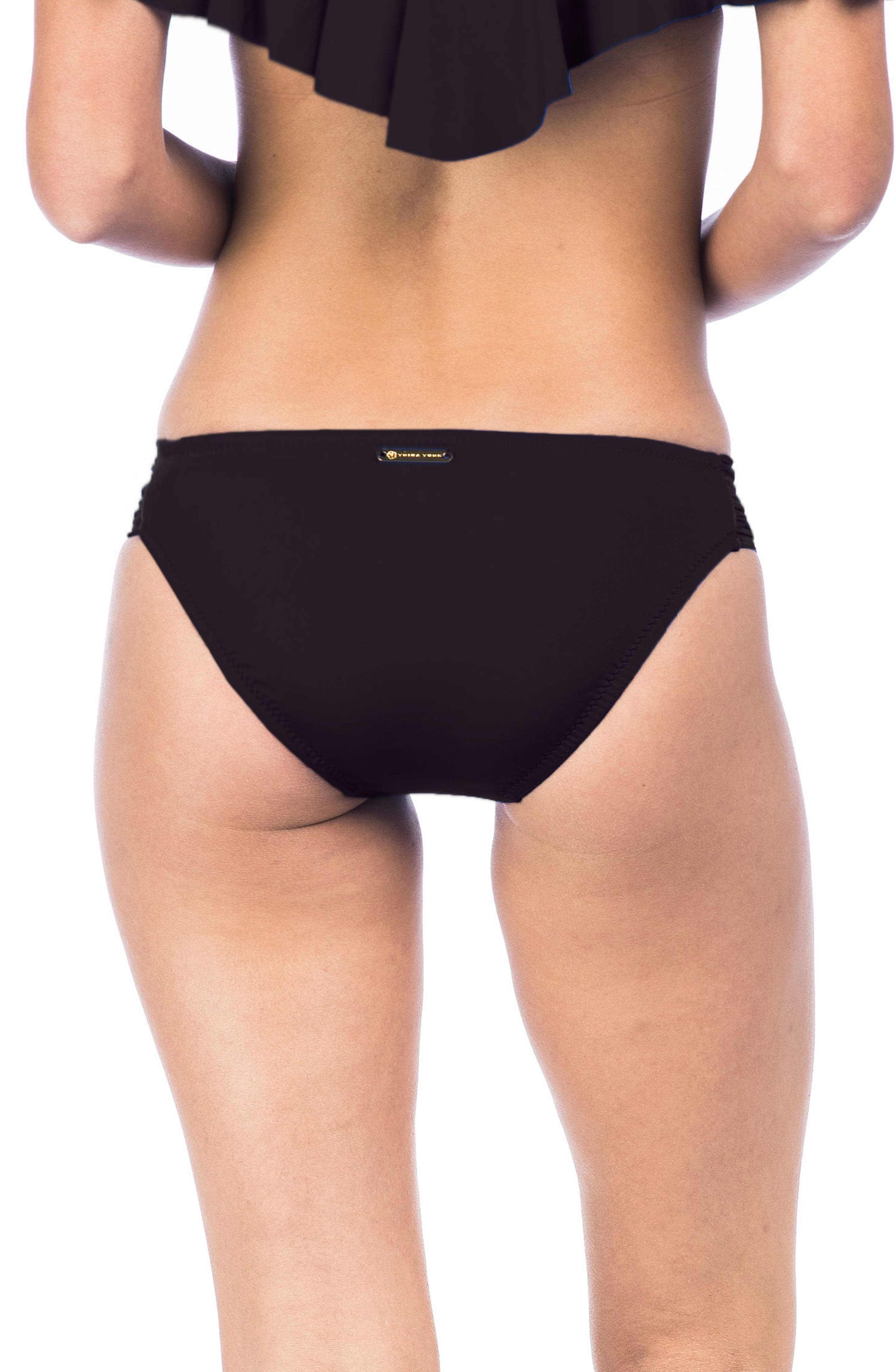 Studio Solids Bikini Bottoms,                             Alternate thumbnail 2, color,                             001