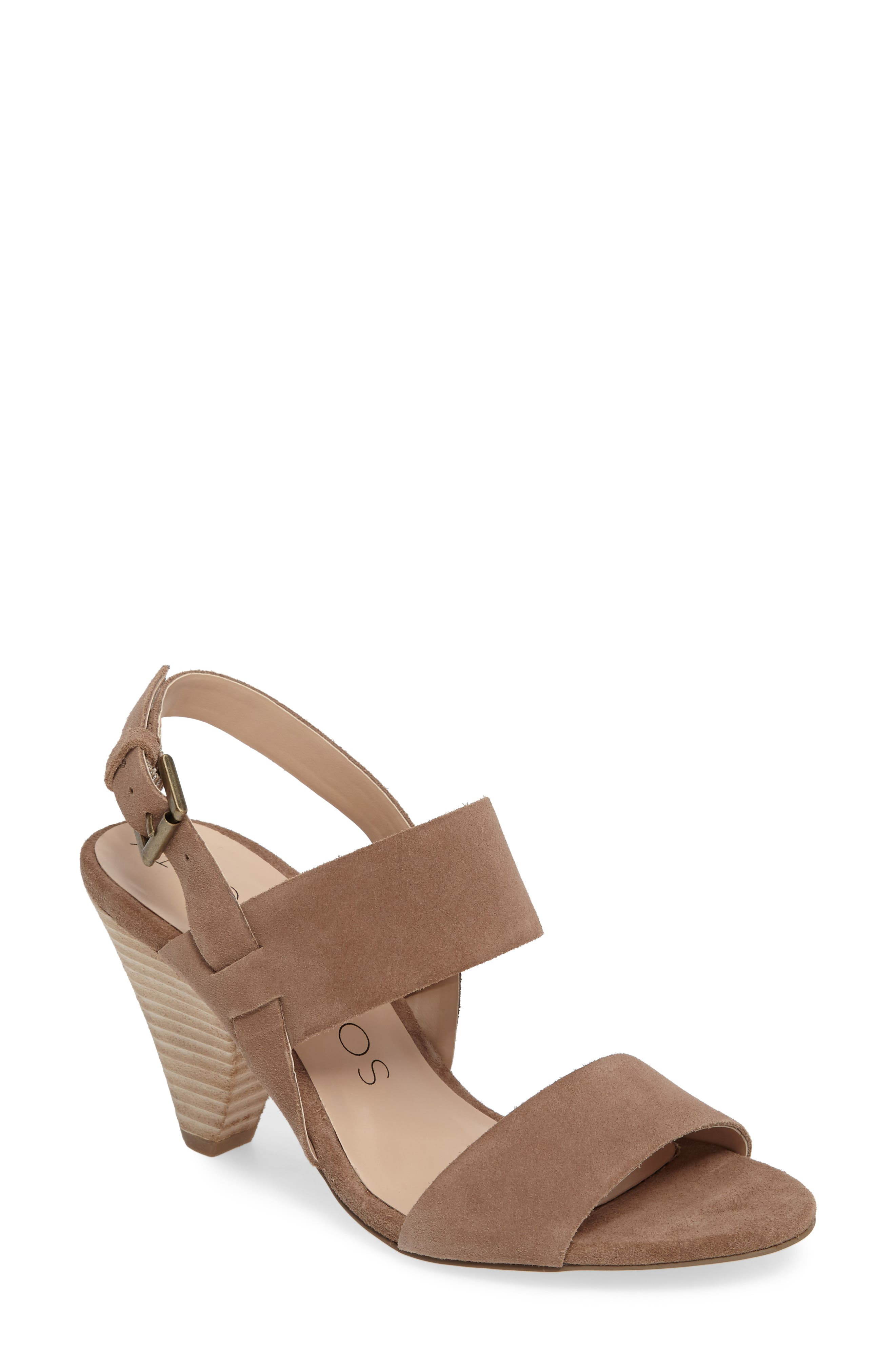Valor Cone Heel Sandal,                         Main,                         color, 200
