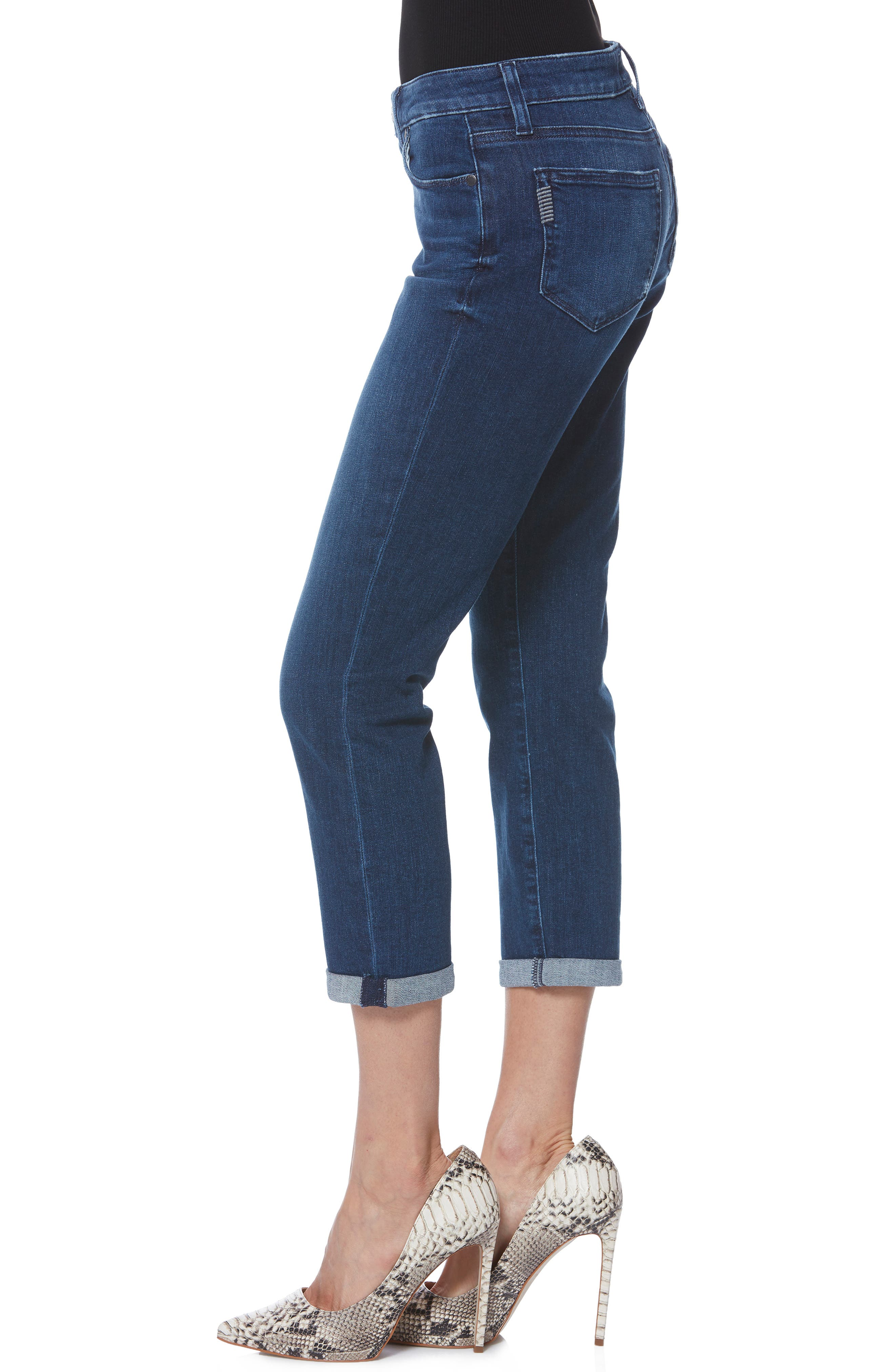 PAIGE,                             Brigitte Crop Boyfriend Jeans,                             Alternate thumbnail 3, color,                             NAPLES