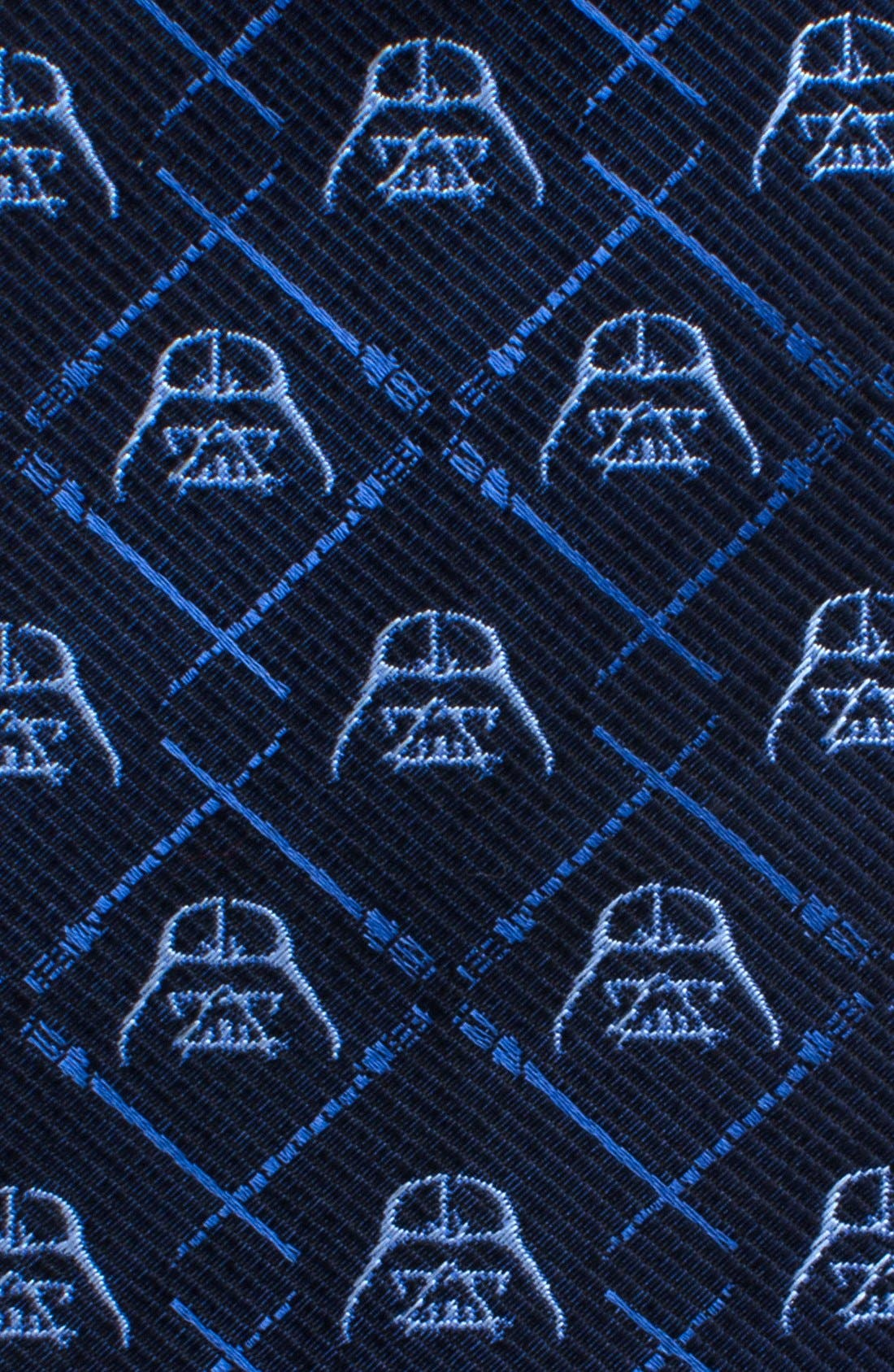 'Darth Vader' Silk Tie,                             Alternate thumbnail 2, color,                             BLUE