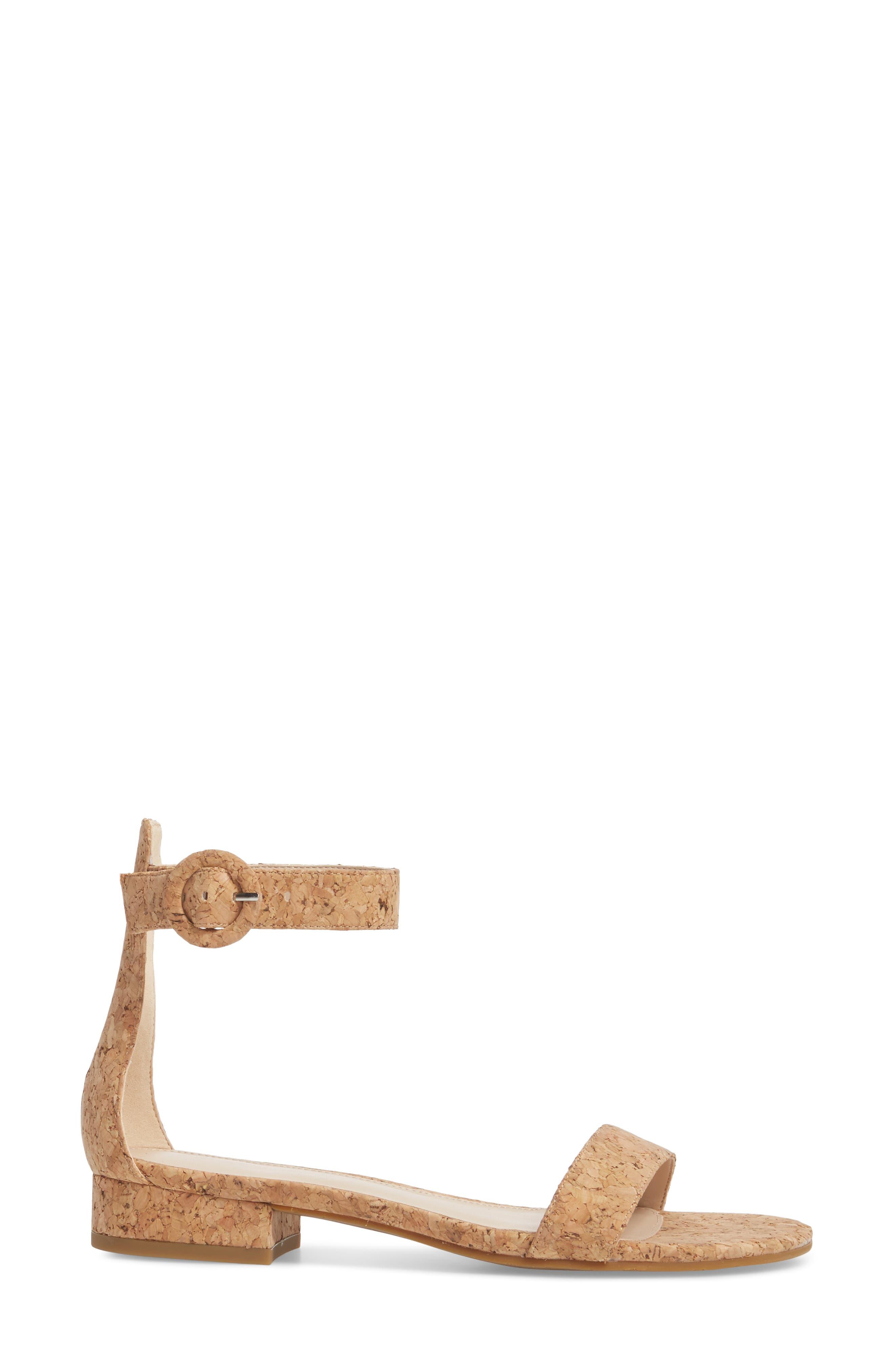 Newport Sandal,                             Alternate thumbnail 3, color,                             NATURAL CORK