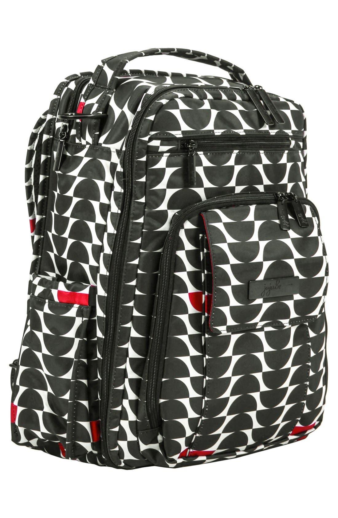 'Be Right Back' Diaper Backpack,                             Alternate thumbnail 5, color,                             006