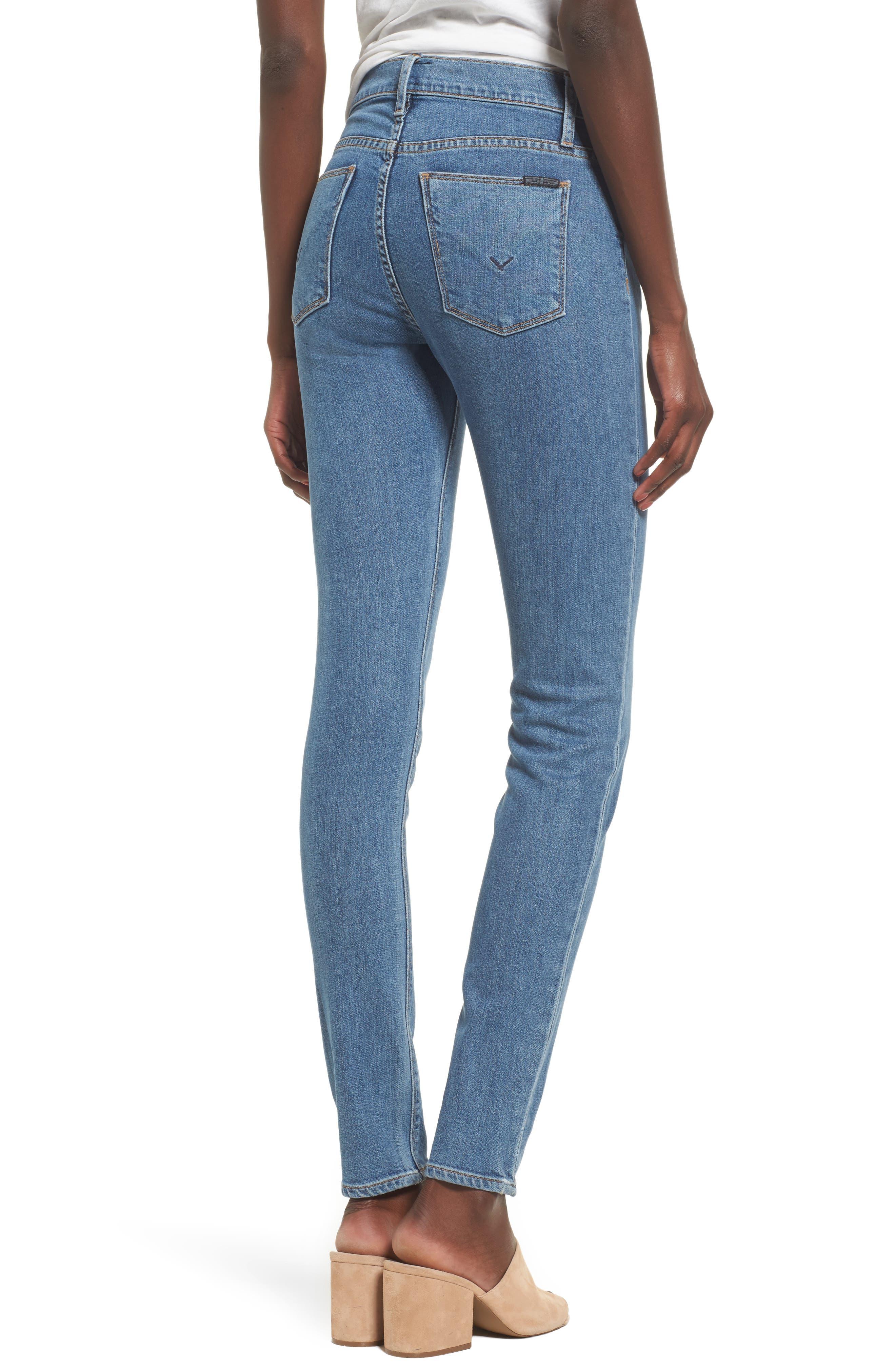 Nico Shredded Skinny Jeans,                             Alternate thumbnail 6, color,