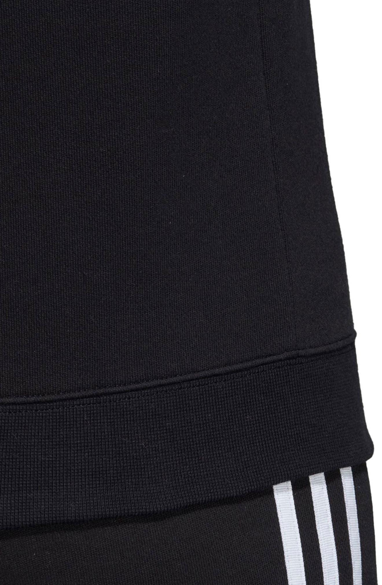 TRF Sweatshirt,                             Alternate thumbnail 5, color,                             BLACK