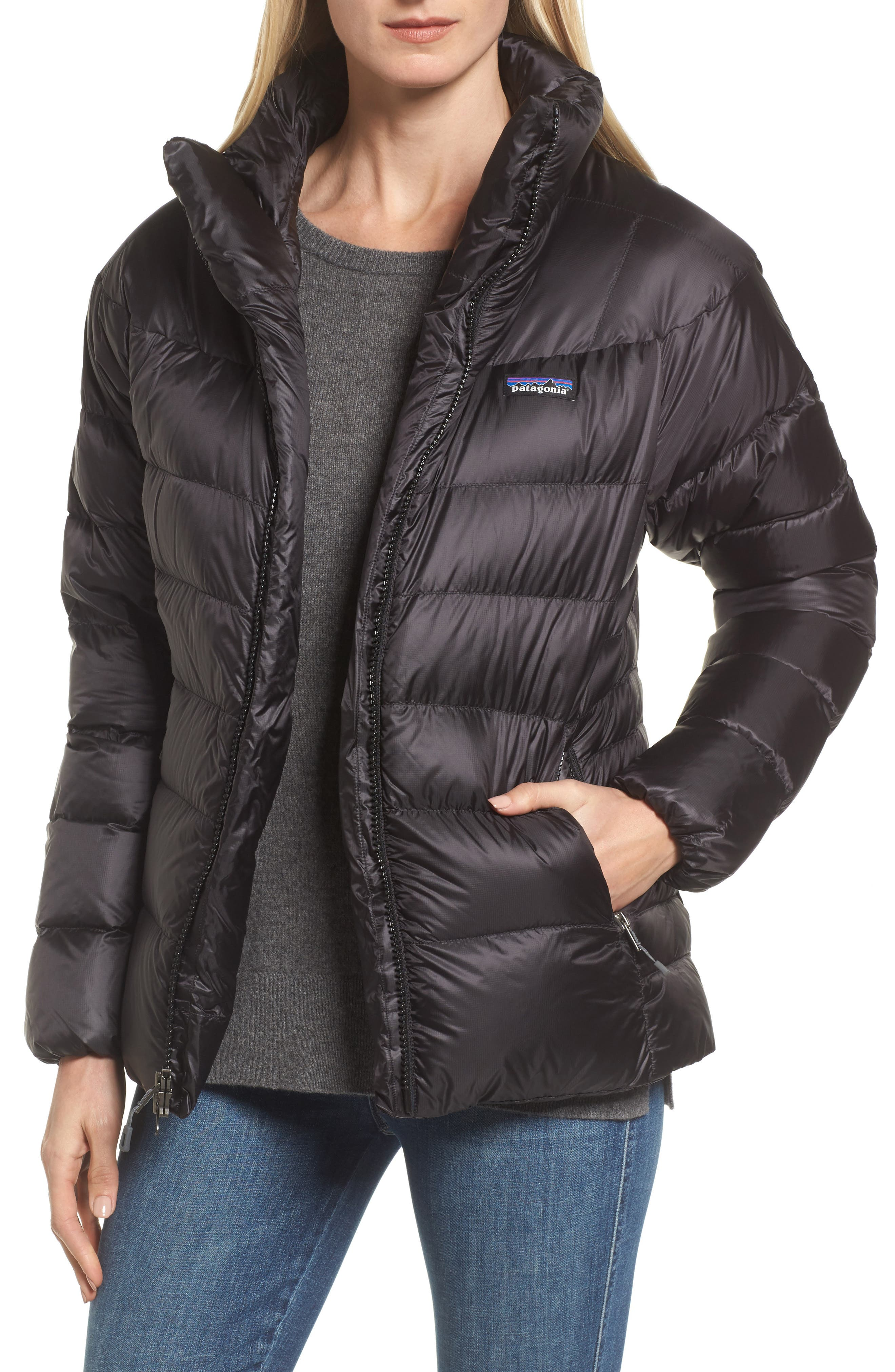 Fitz Roy Water Repellent 800-Fill-Power Down Parka,                         Main,                         color,