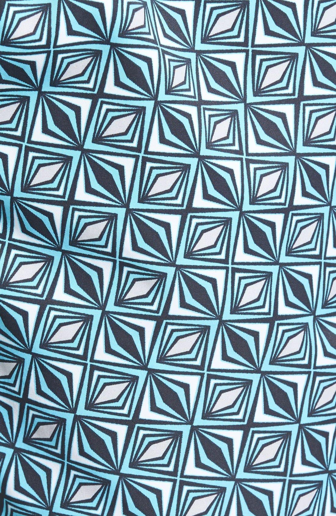 Print Swim Trunks,                             Alternate thumbnail 5, color,                             440