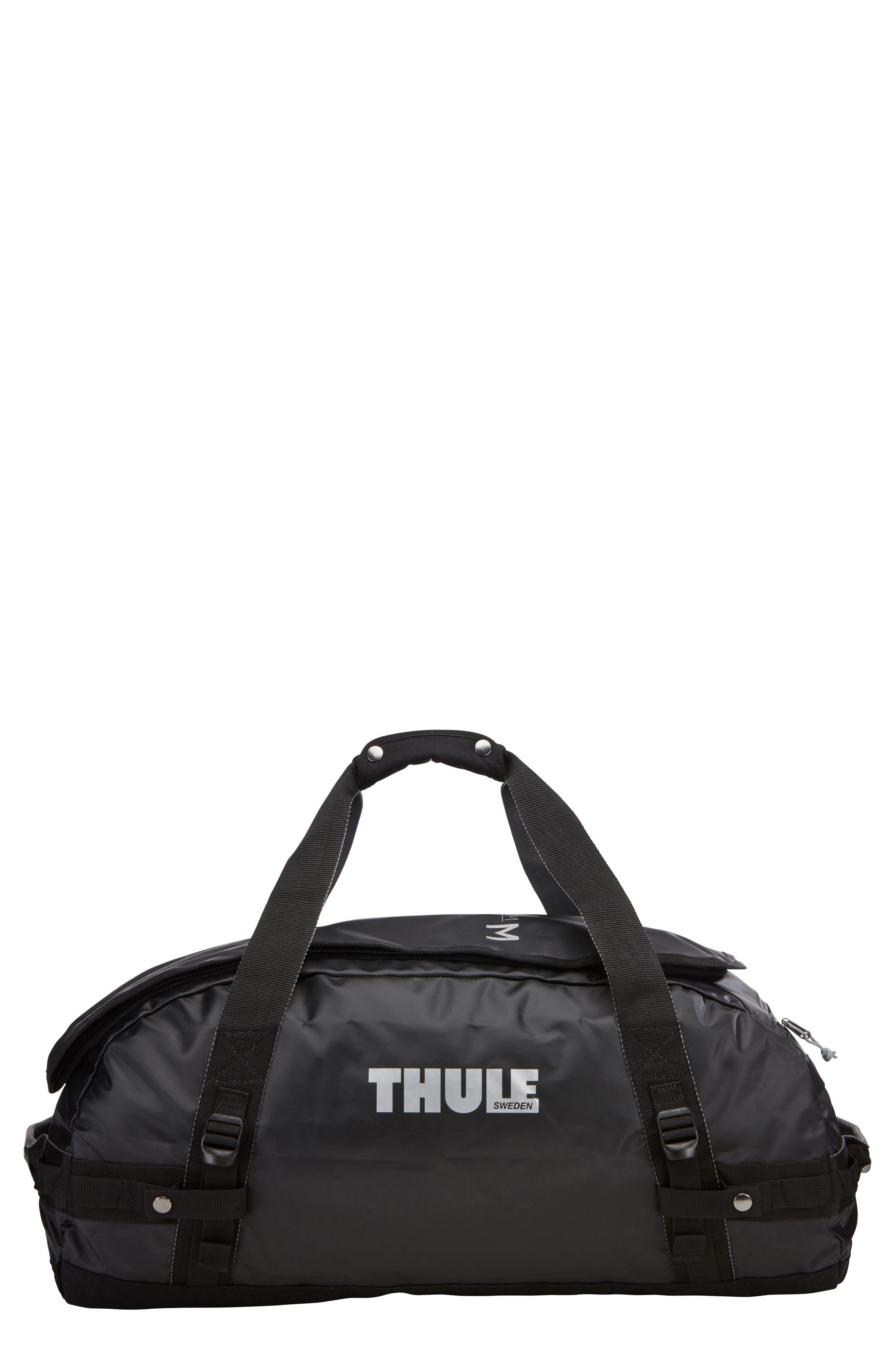 Chasm 70-Liter Convertible Duffel Bag,                             Main thumbnail 1, color,                             BLACK
