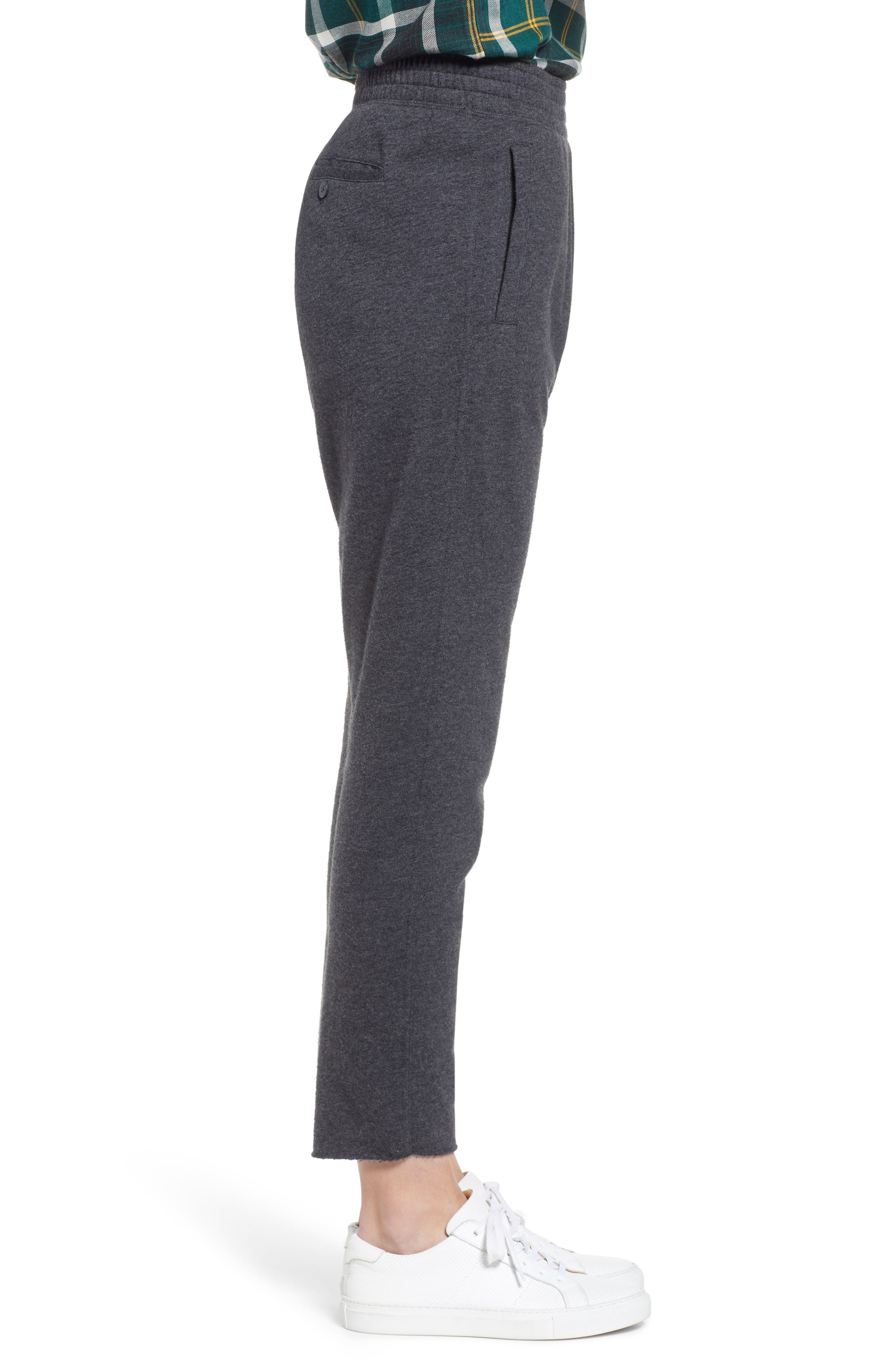 Jogger Pants,                             Alternate thumbnail 3, color,                             GREY DARK CHARCOAL HEATHER