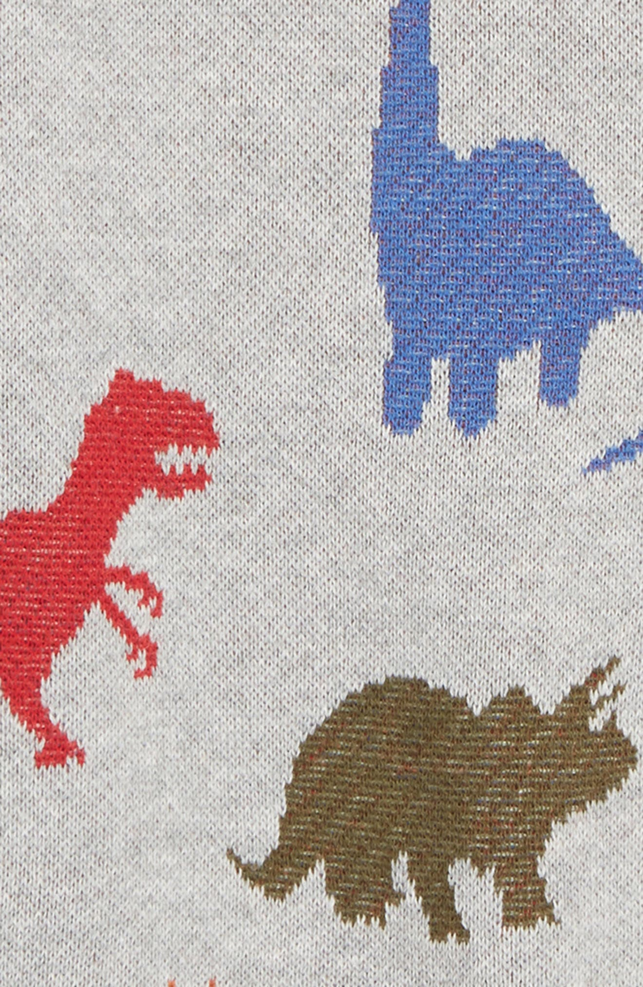Dinosaur Sweater,                             Alternate thumbnail 2, color,                             050