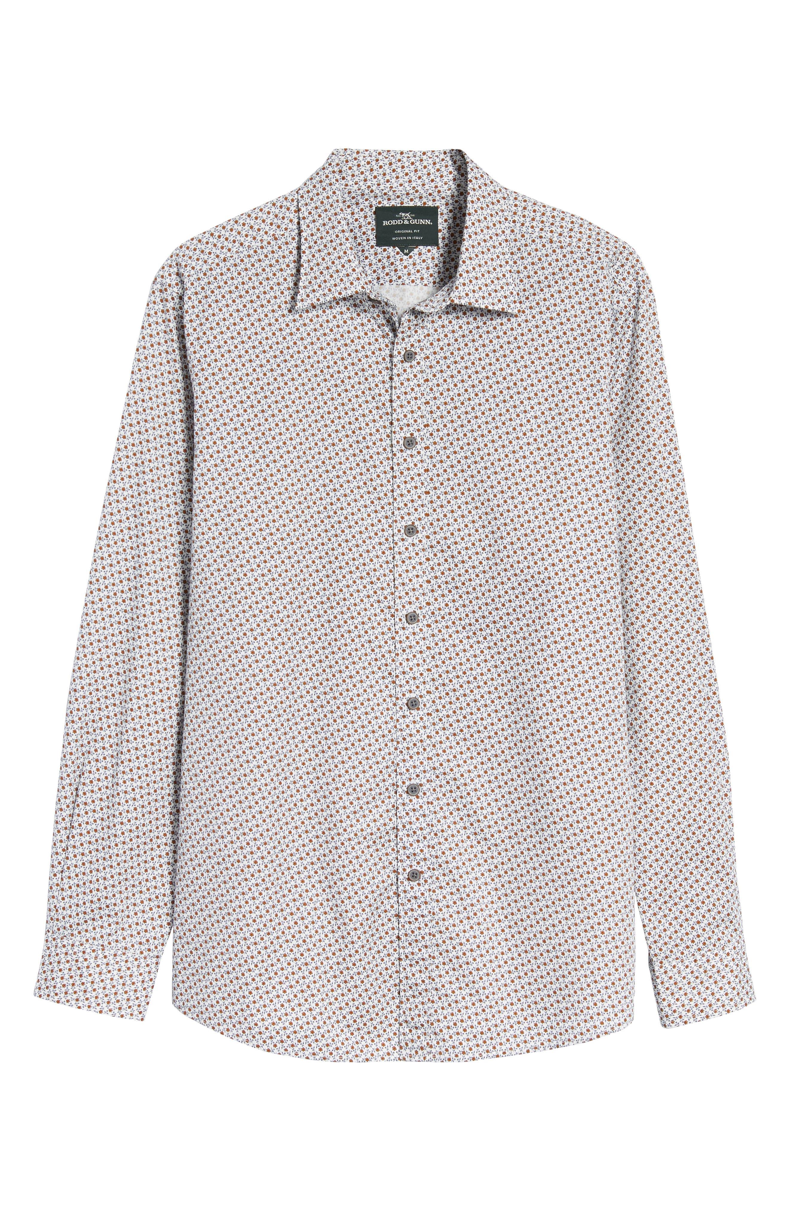 Regular Fit Cascade Sport Shirt,                             Alternate thumbnail 6, color,                             815
