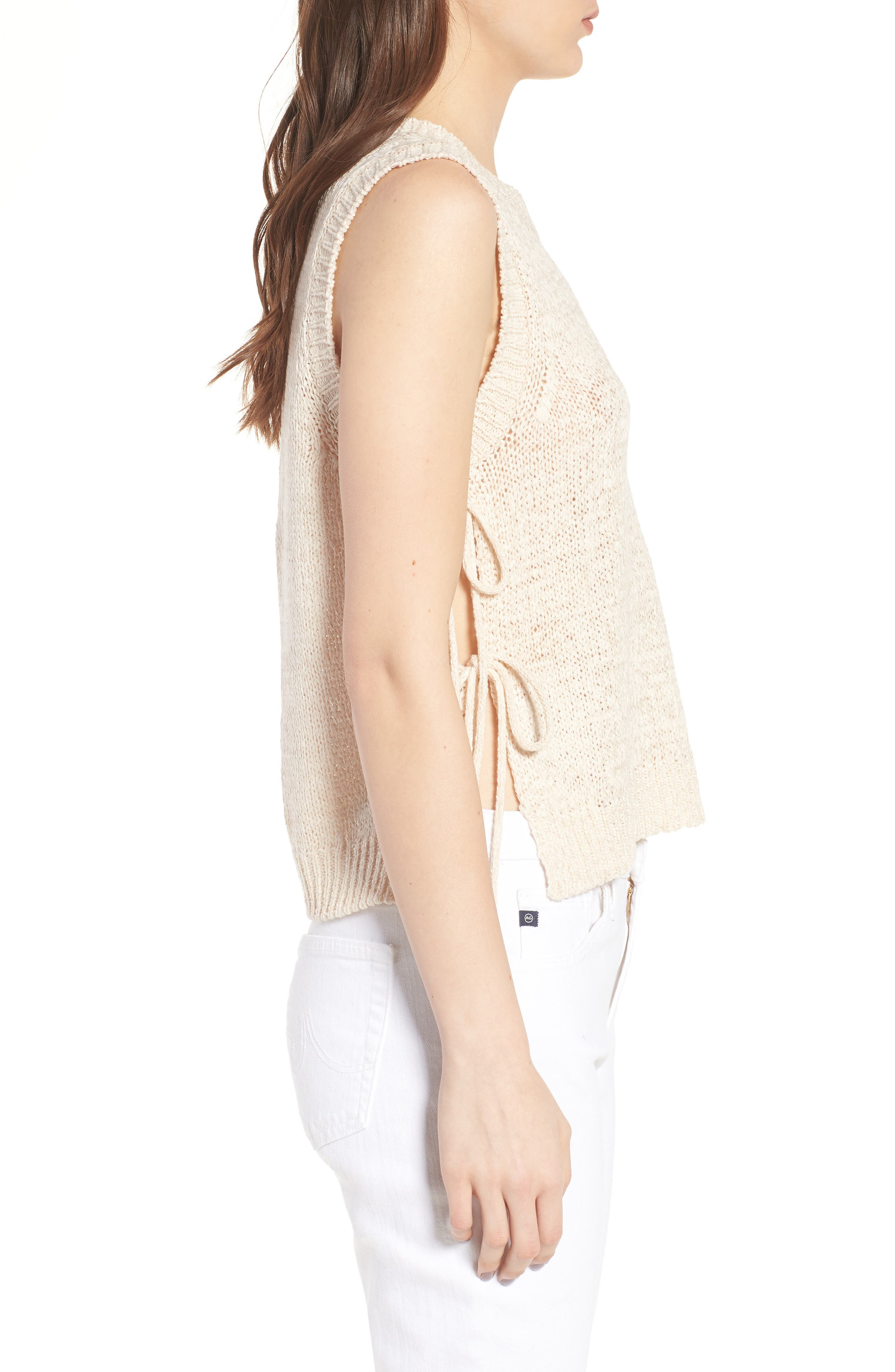 CUPCAKES AND CASHMERE,                             Chantell Sweater Tank,                             Alternate thumbnail 3, color,                             250
