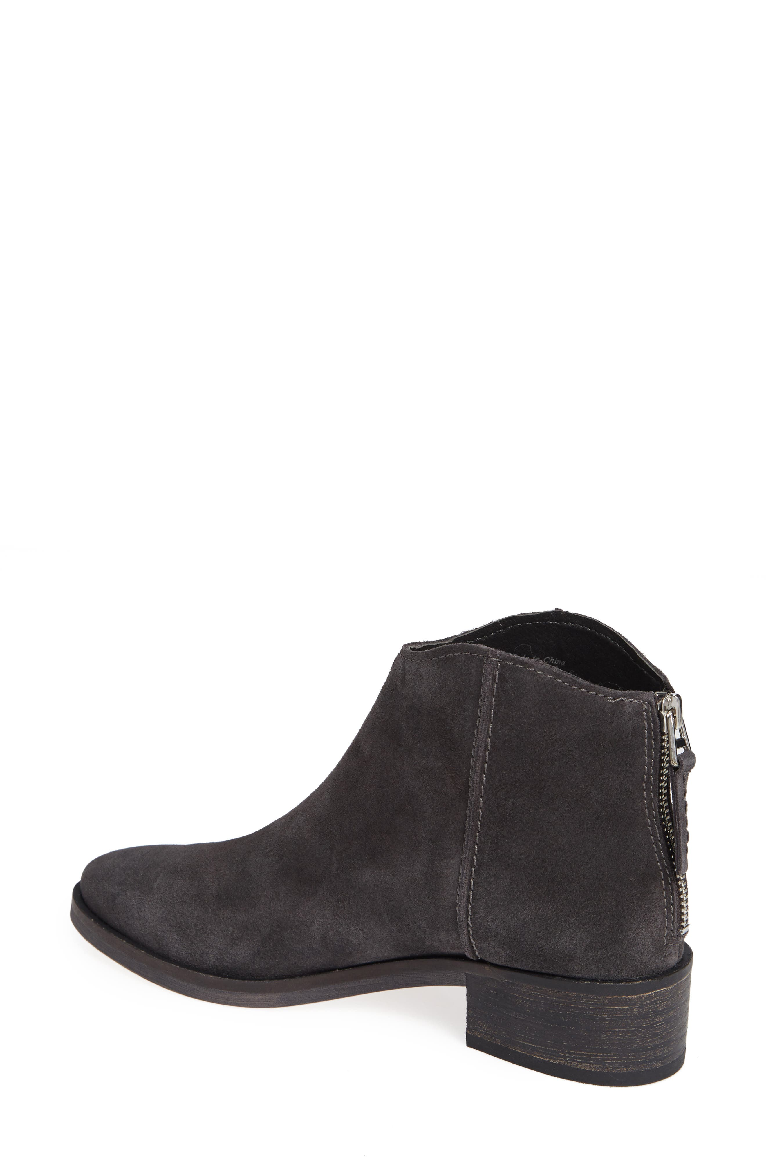 Tucker Bootie,                             Alternate thumbnail 2, color,                             ANTHRACITE SUEDE