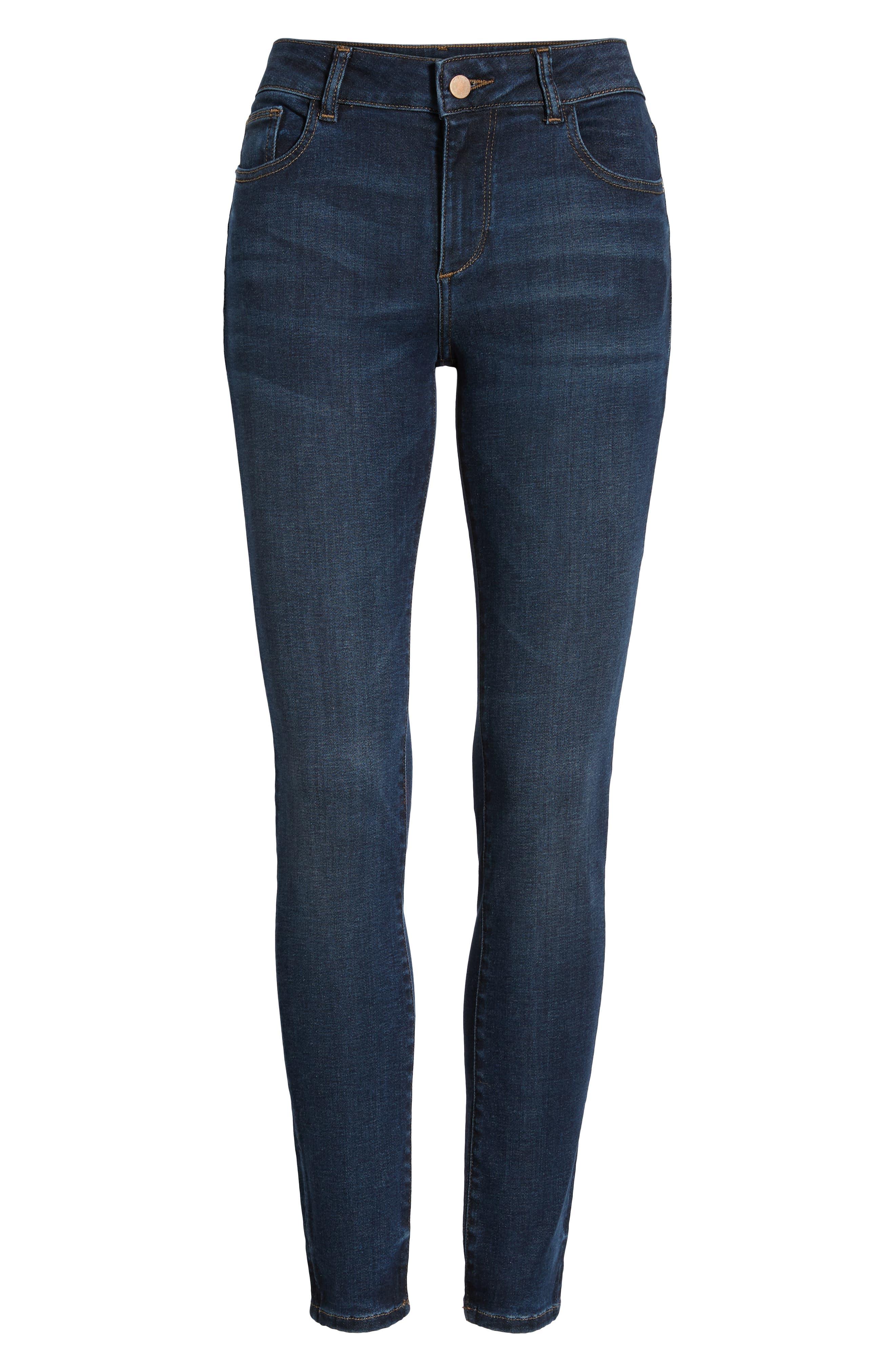 Florence Instasculpt Ankle Skinny Jeans,                             Alternate thumbnail 7, color,                             425