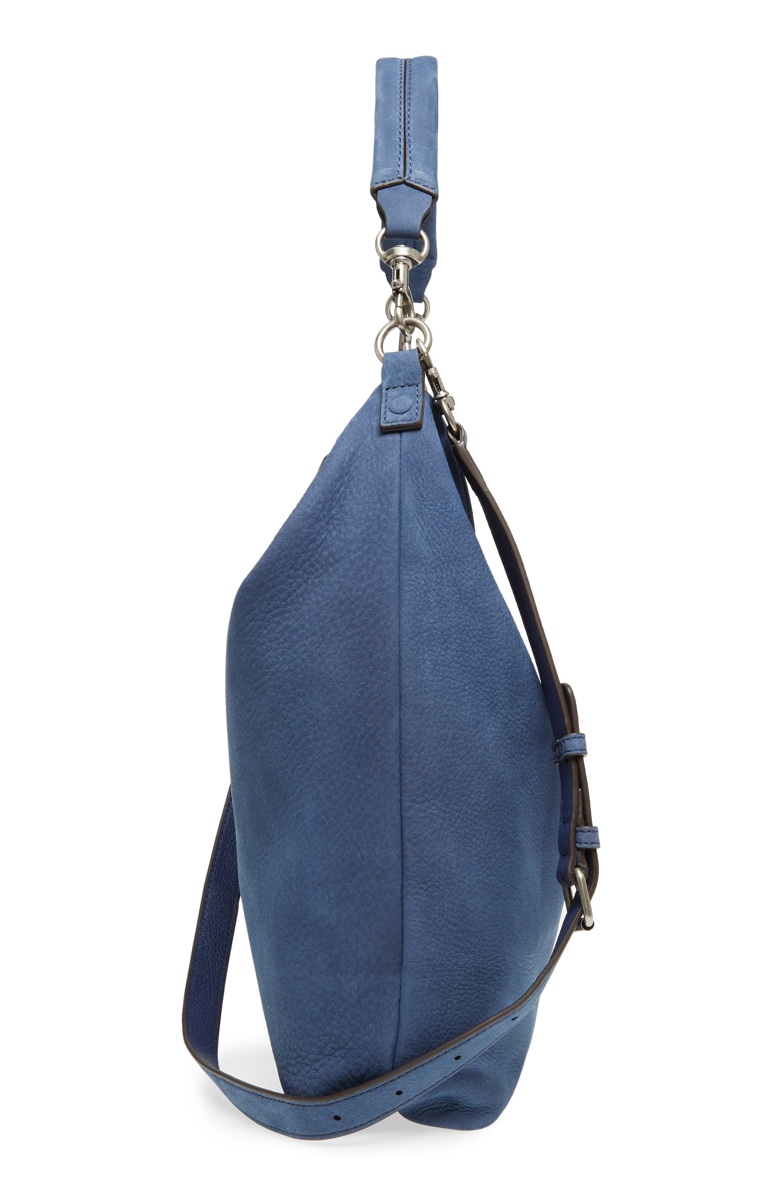 Large Jamie Convertible Leather Hobo,                             Alternate thumbnail 5, color,                             483