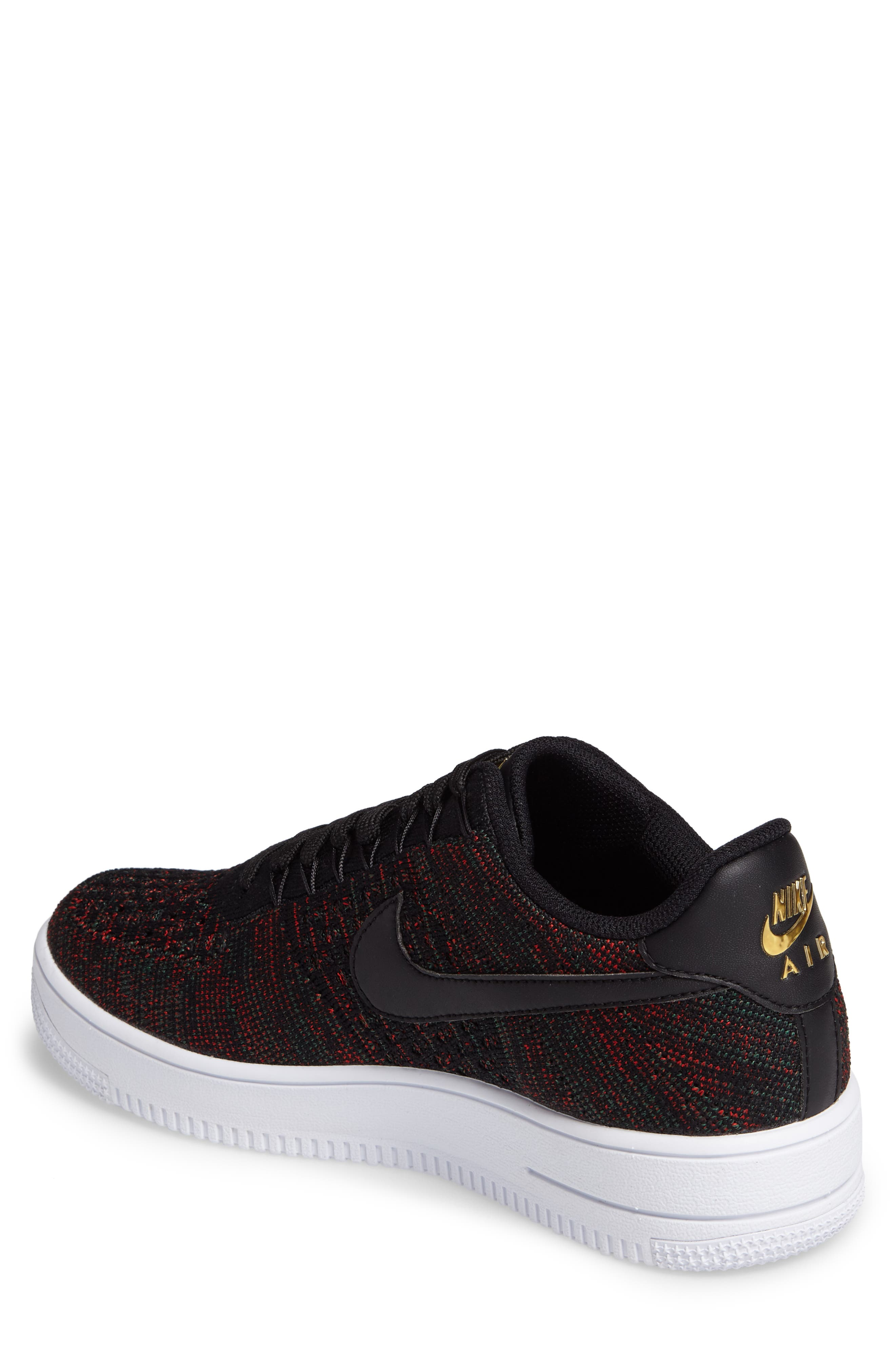Air Force 1 Ultra Flyknit Low Sneaker,                             Alternate thumbnail 2, color,                             005