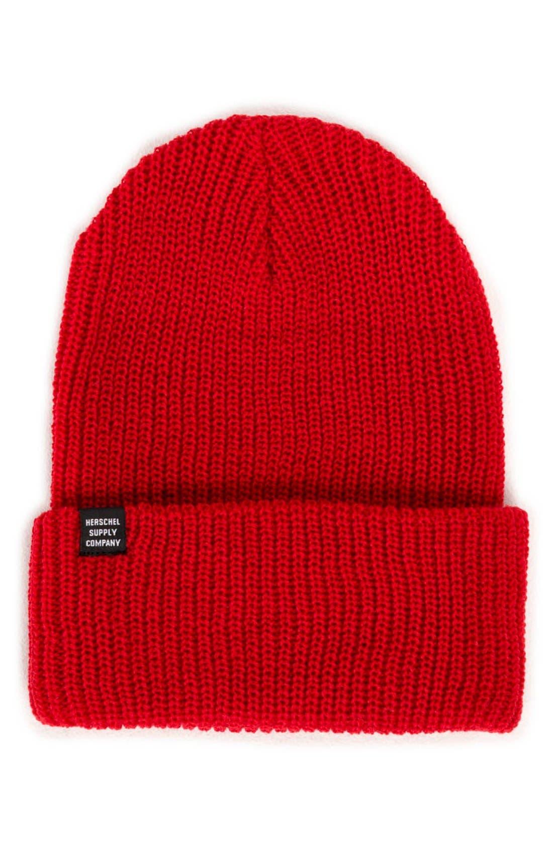 'Quartz' Solid Knit Cap,                             Main thumbnail 7, color,