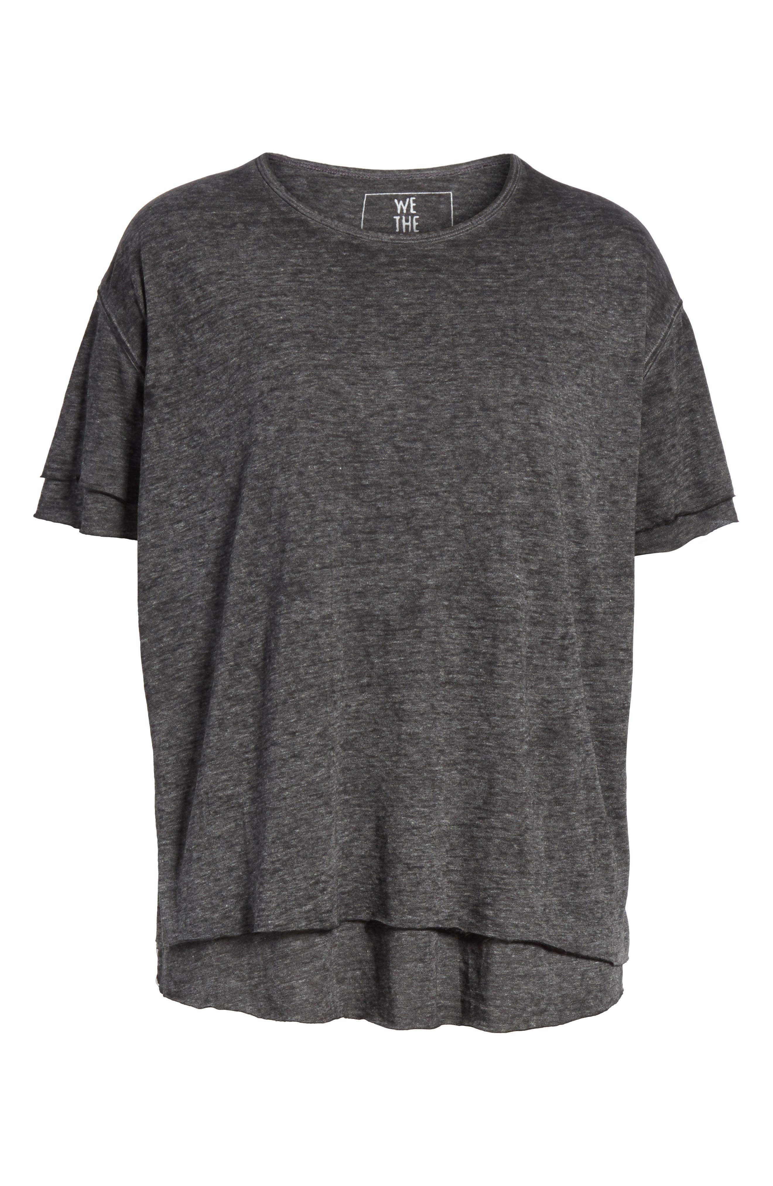 We the Free by Free People Cloud Nine Tee,                             Alternate thumbnail 6, color,                             089