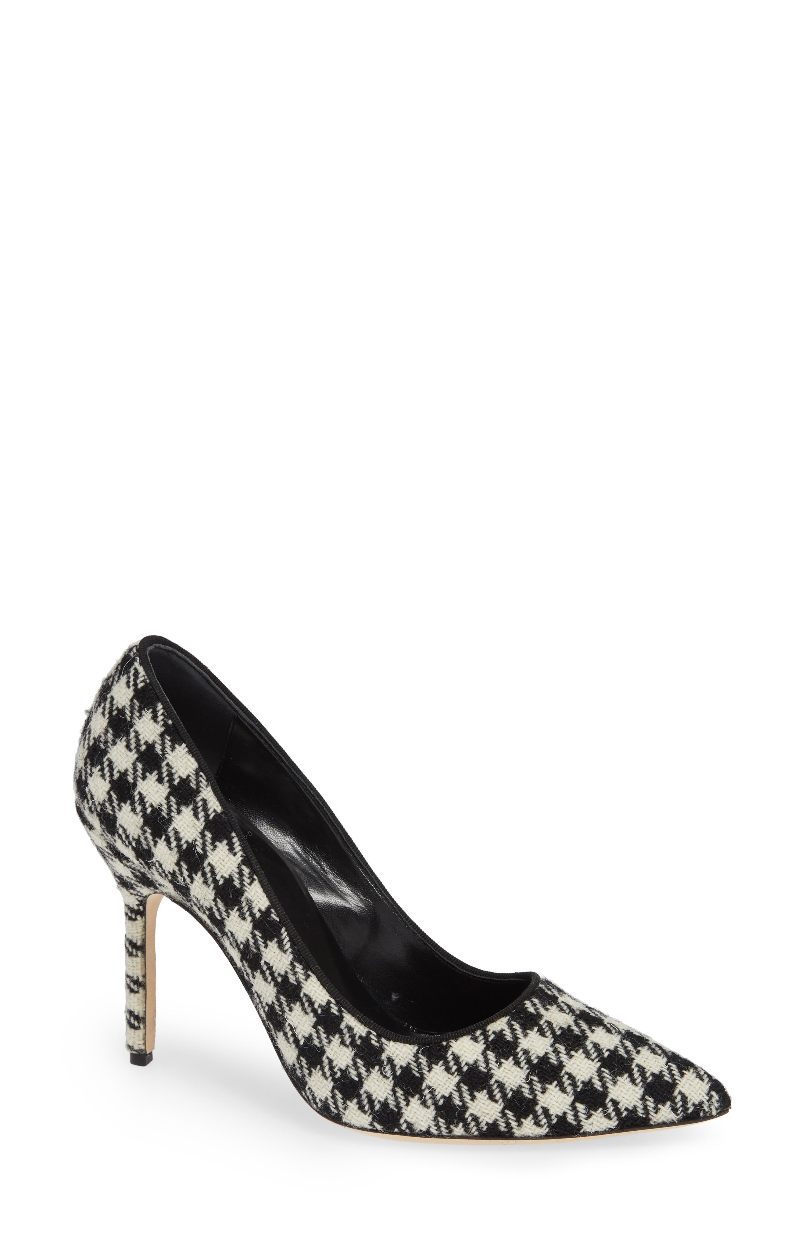 BB Pointy Toe Pump, Main, color, HOUNDSTOOTH